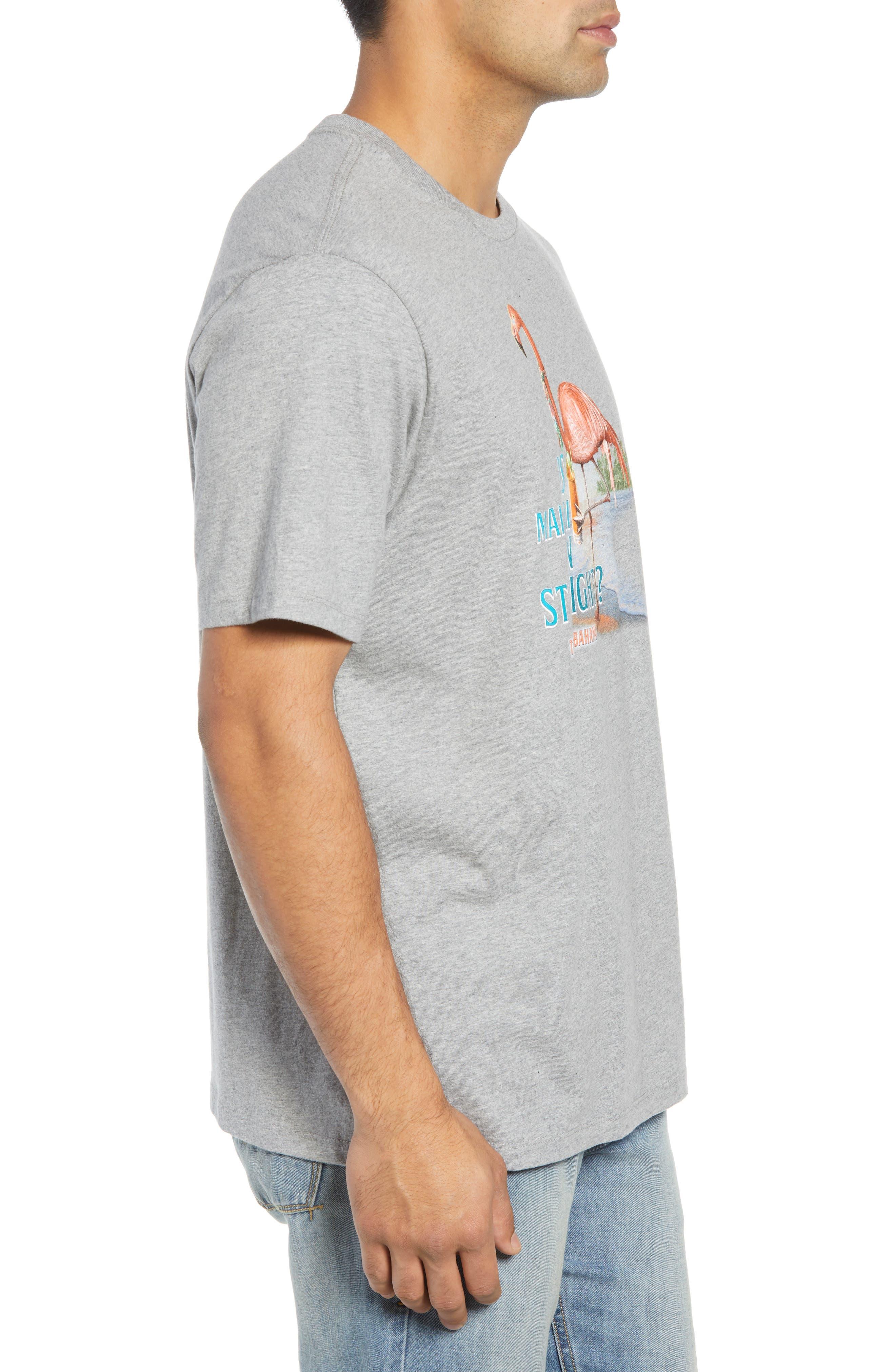 Is Mai Tai on Straight? T-Shirt,                             Alternate thumbnail 3, color,                             GREY HEATHER