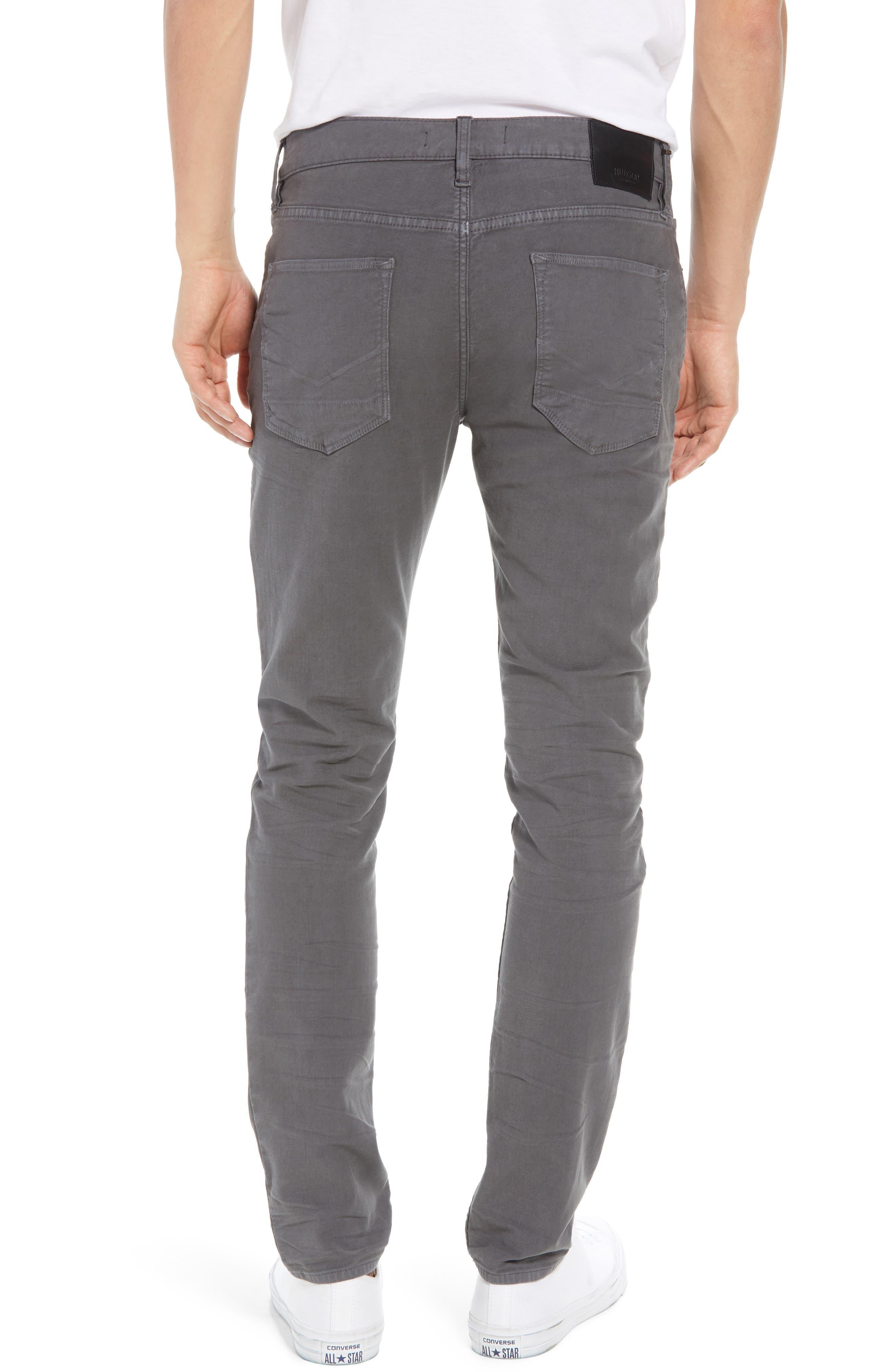 Hudson Axl Skinny Fit Jeans,                             Alternate thumbnail 2, color,                             GRAPHITE