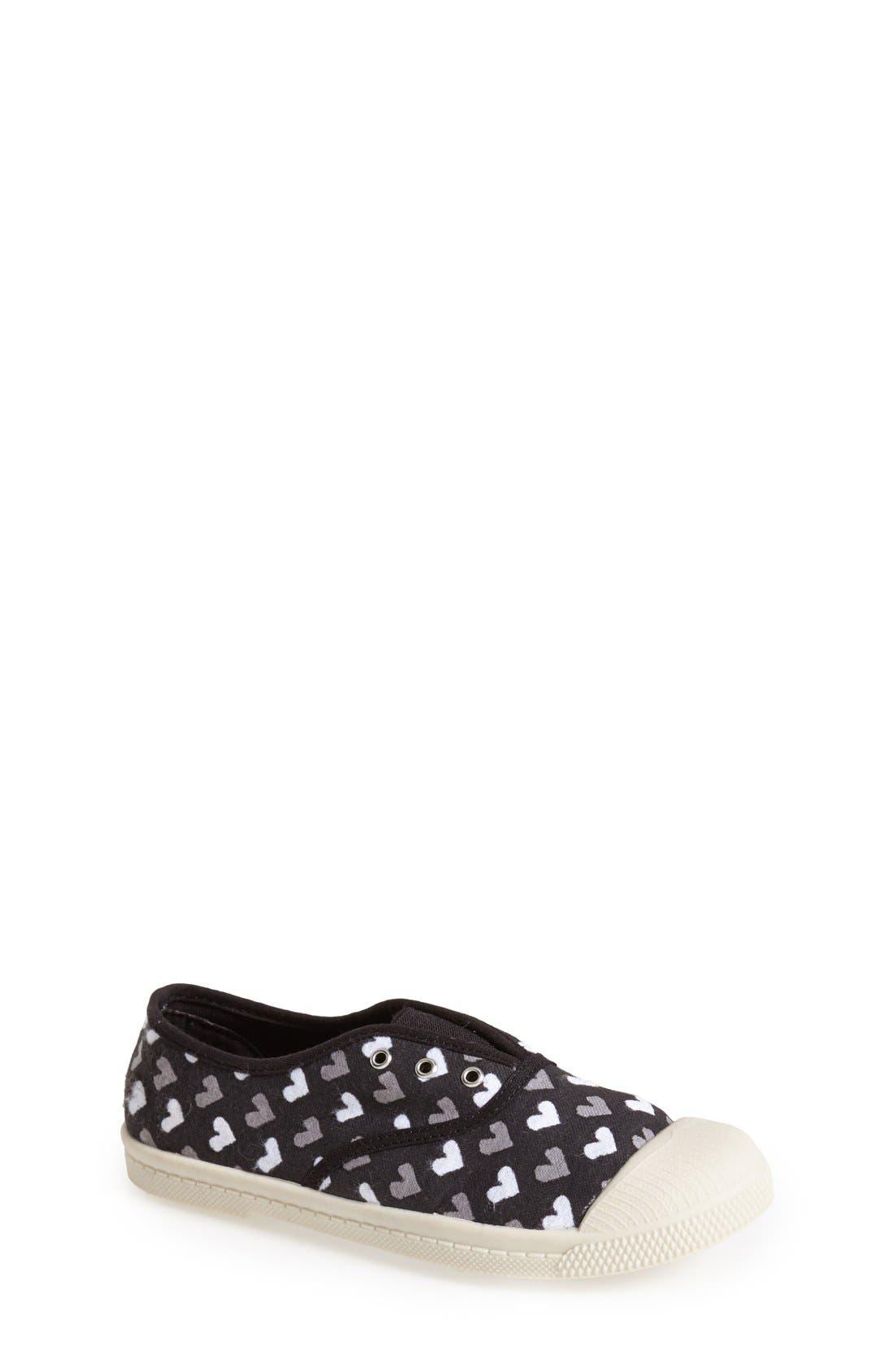 'Marin' Canvas Slip-On Sneaker,                             Main thumbnail 1, color,                             001