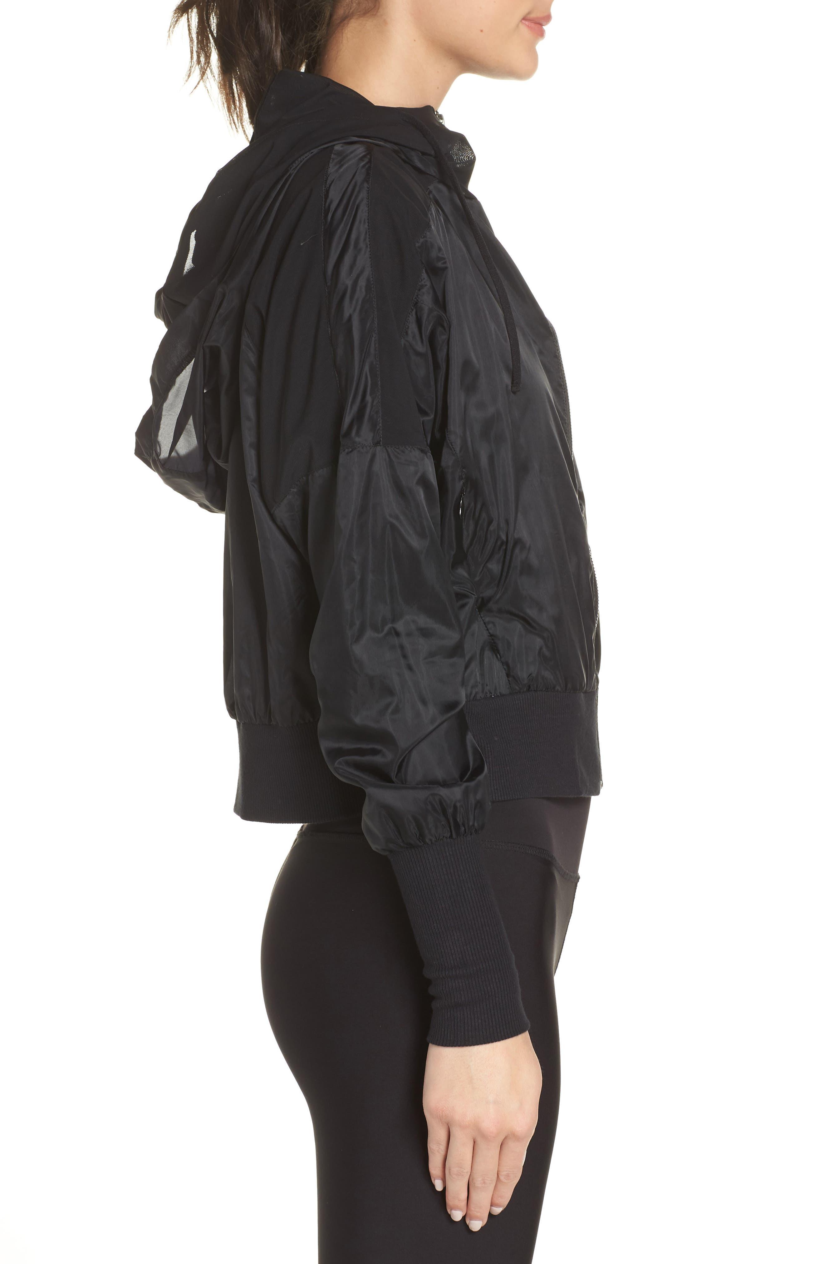 Aqua Jacket,                             Alternate thumbnail 3, color,                             BLACK