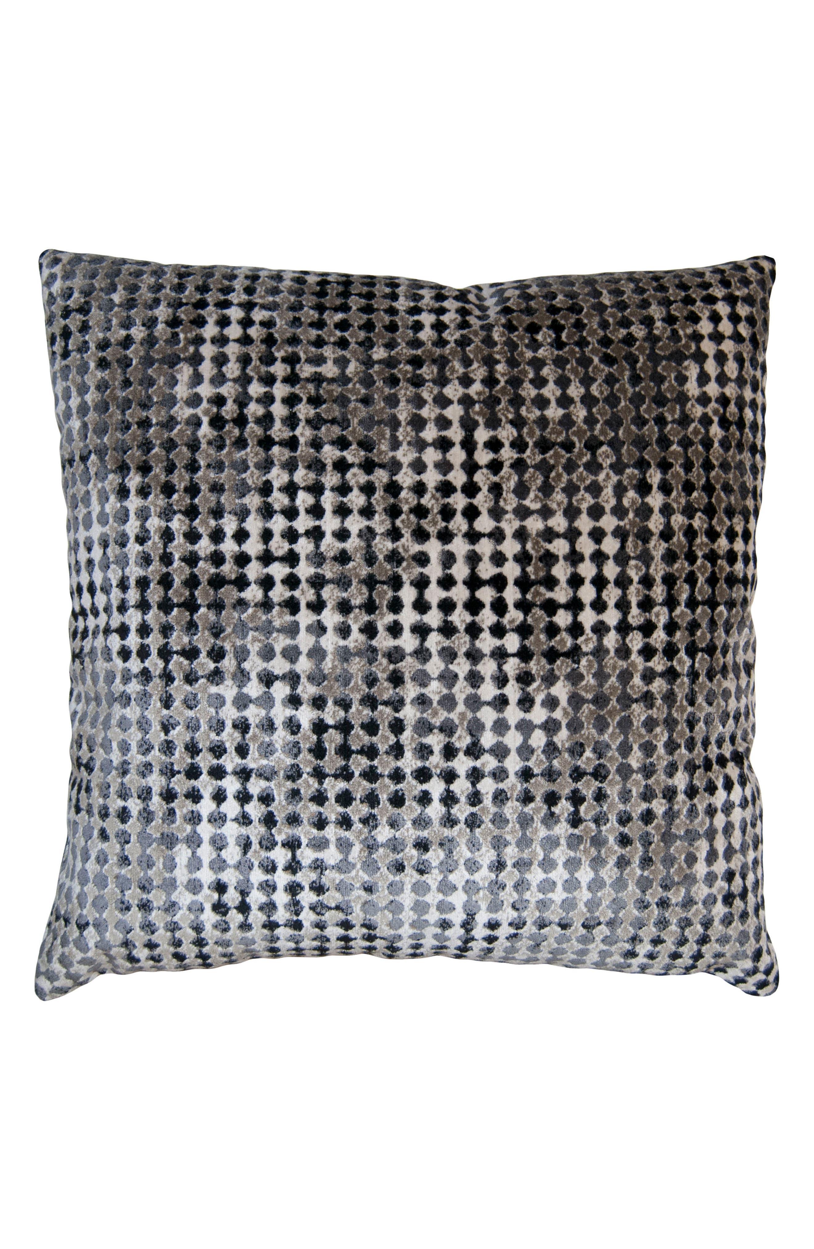Robertson Gem Accent Pillow,                             Main thumbnail 1, color,                             GREY