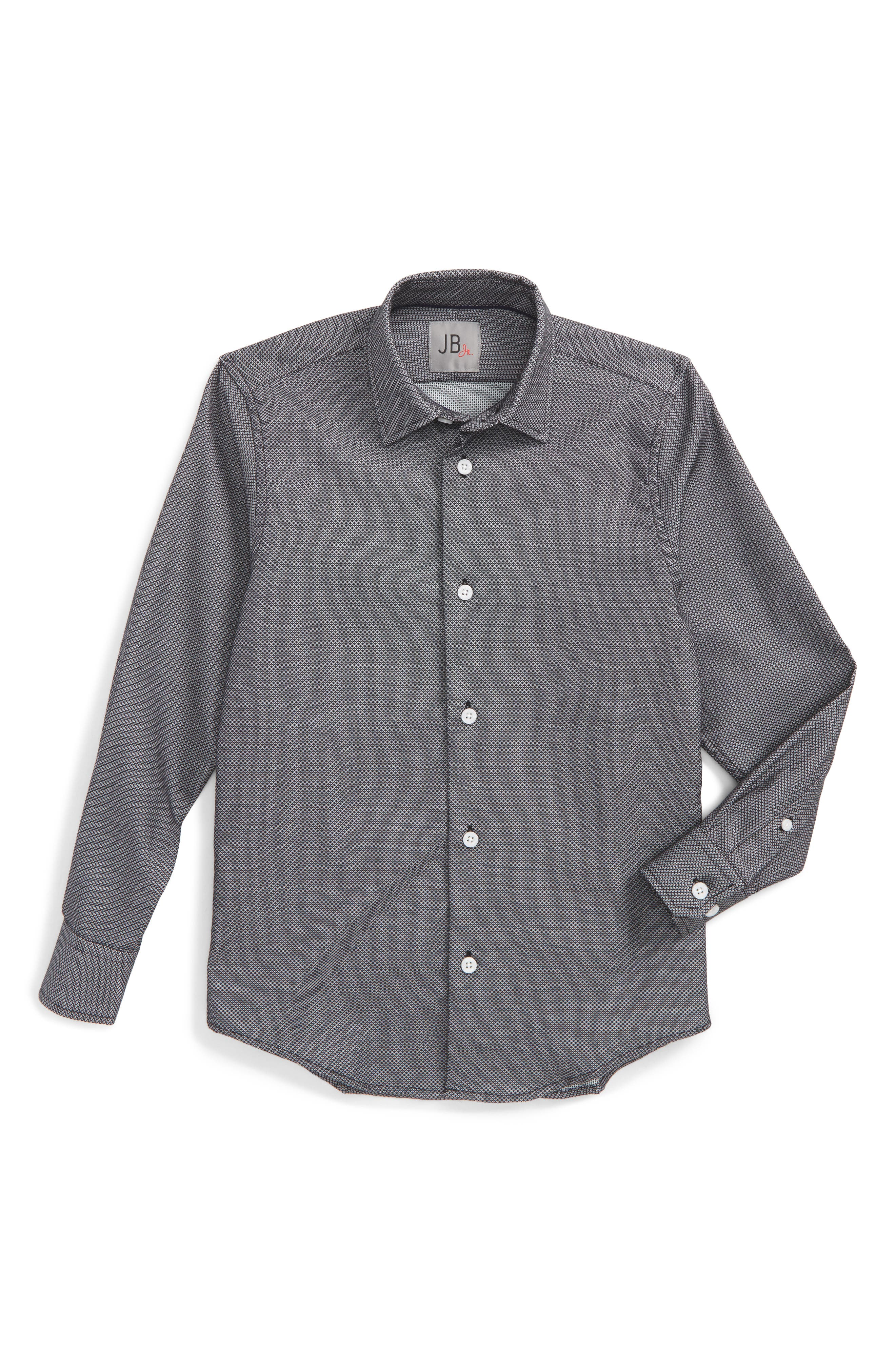 Neat Dress Shirt,                             Main thumbnail 1, color,                             001