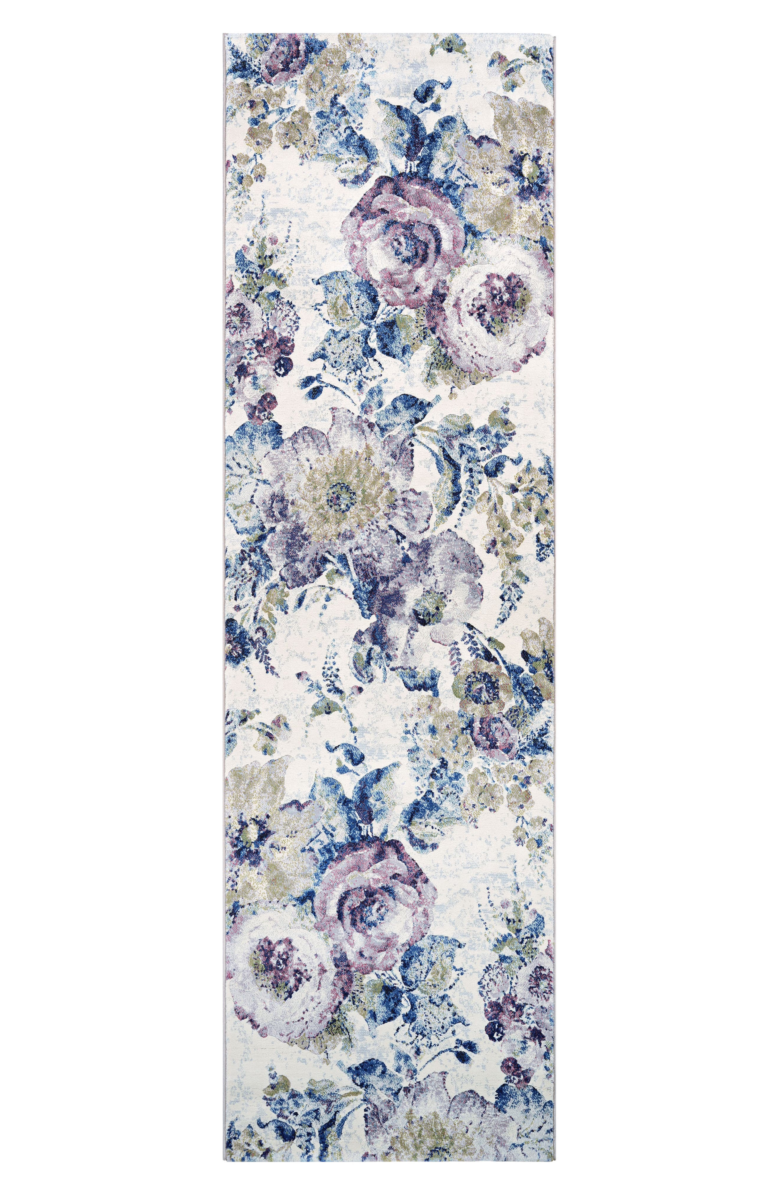 Floral Chic Indoor/Outdoor Rug,                             Alternate thumbnail 2, color,                             BONE/ MULTI