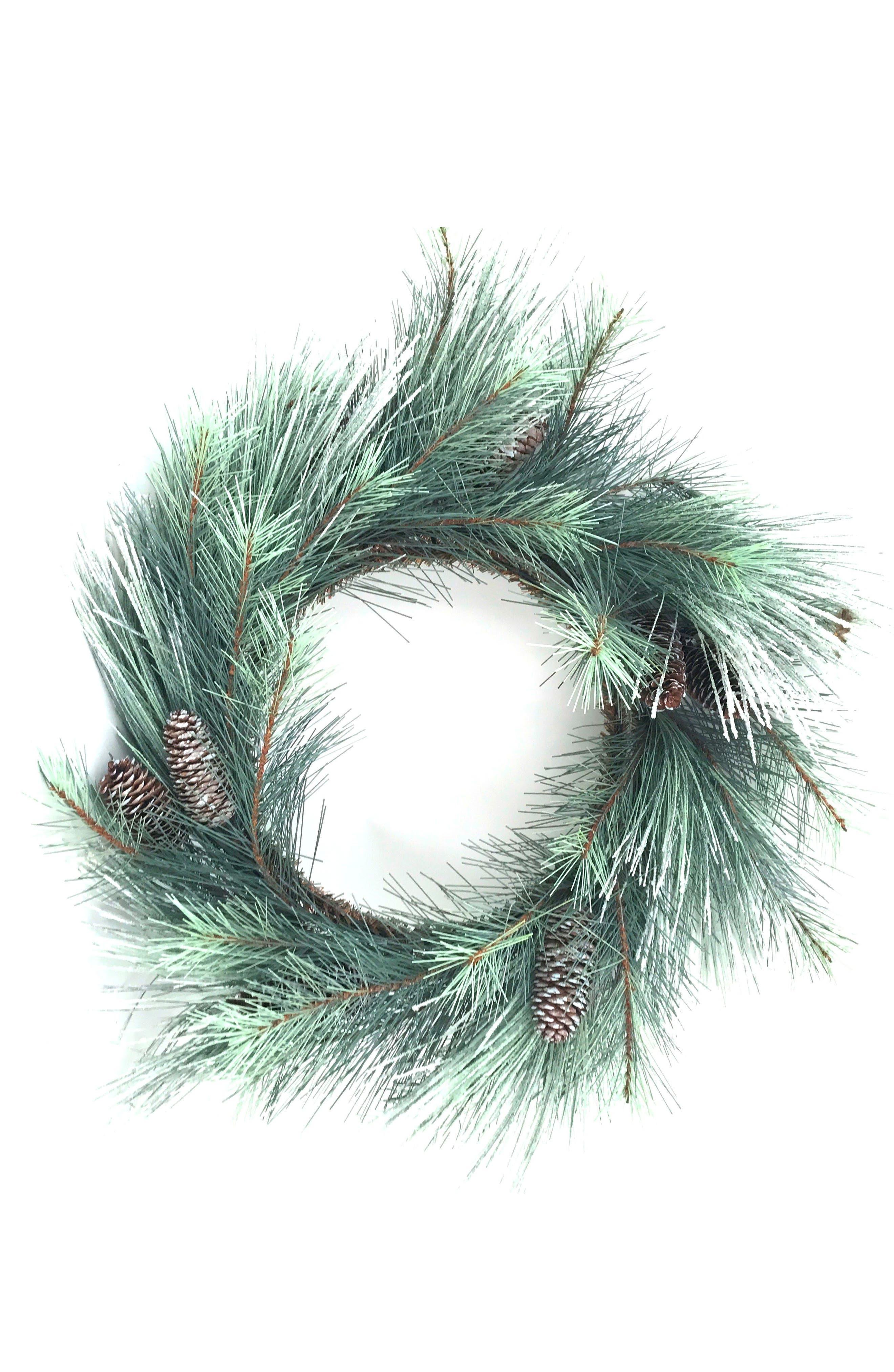 Pine Wreath,                             Main thumbnail 1, color,                             300