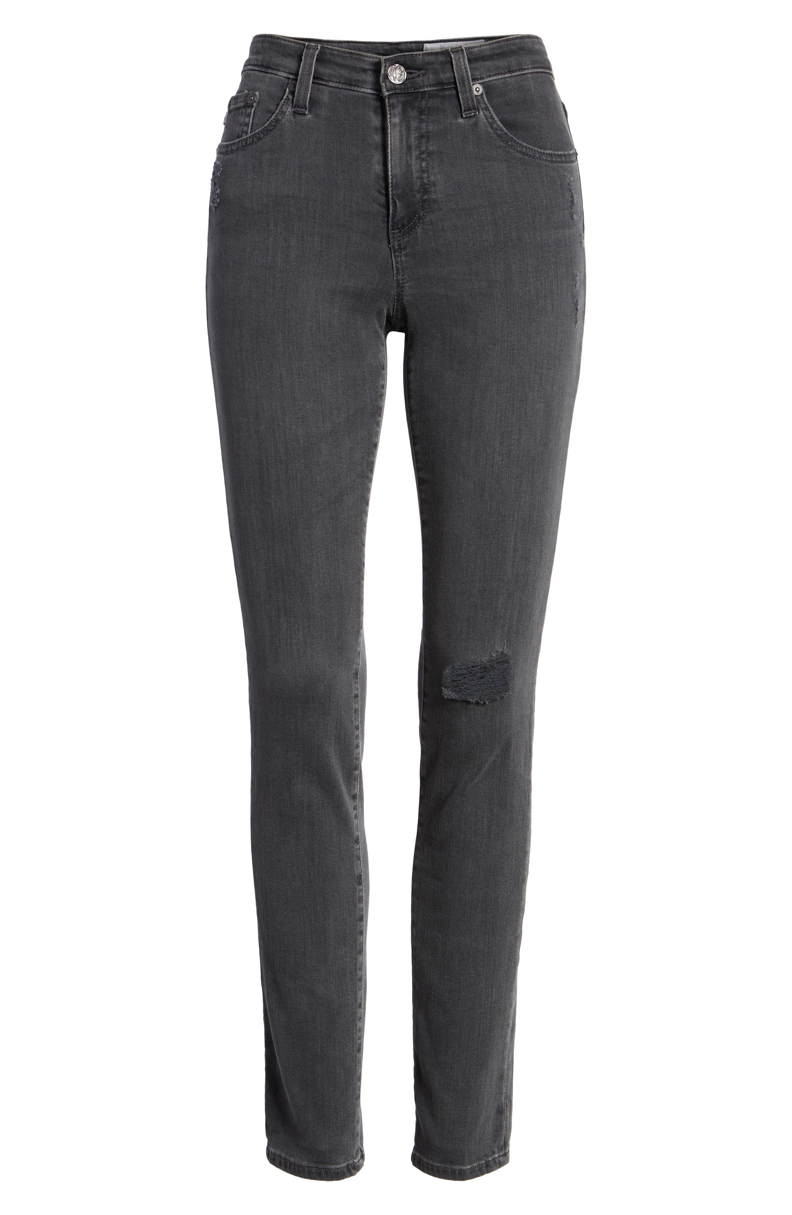 'The Legging' Ankle Super Skinny Jeans,                             Alternate thumbnail 23, color,