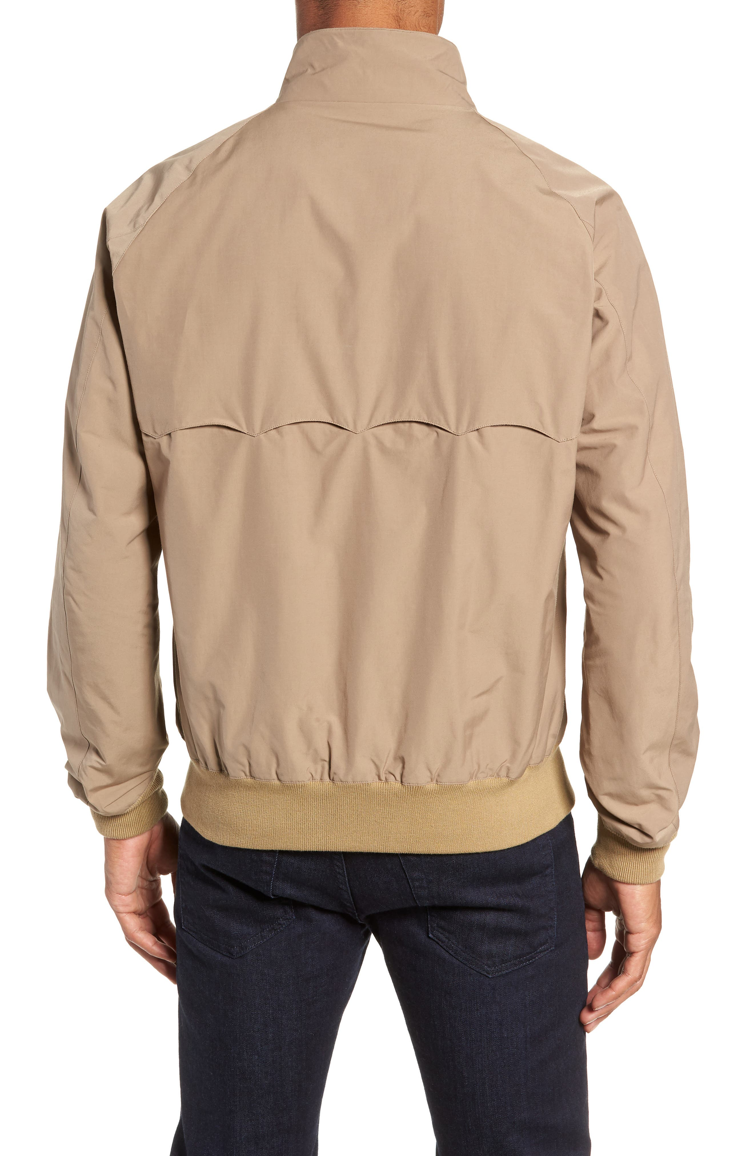 G9 Water Repellent Harrington Jacket,                             Alternate thumbnail 2, color,                             TAN
