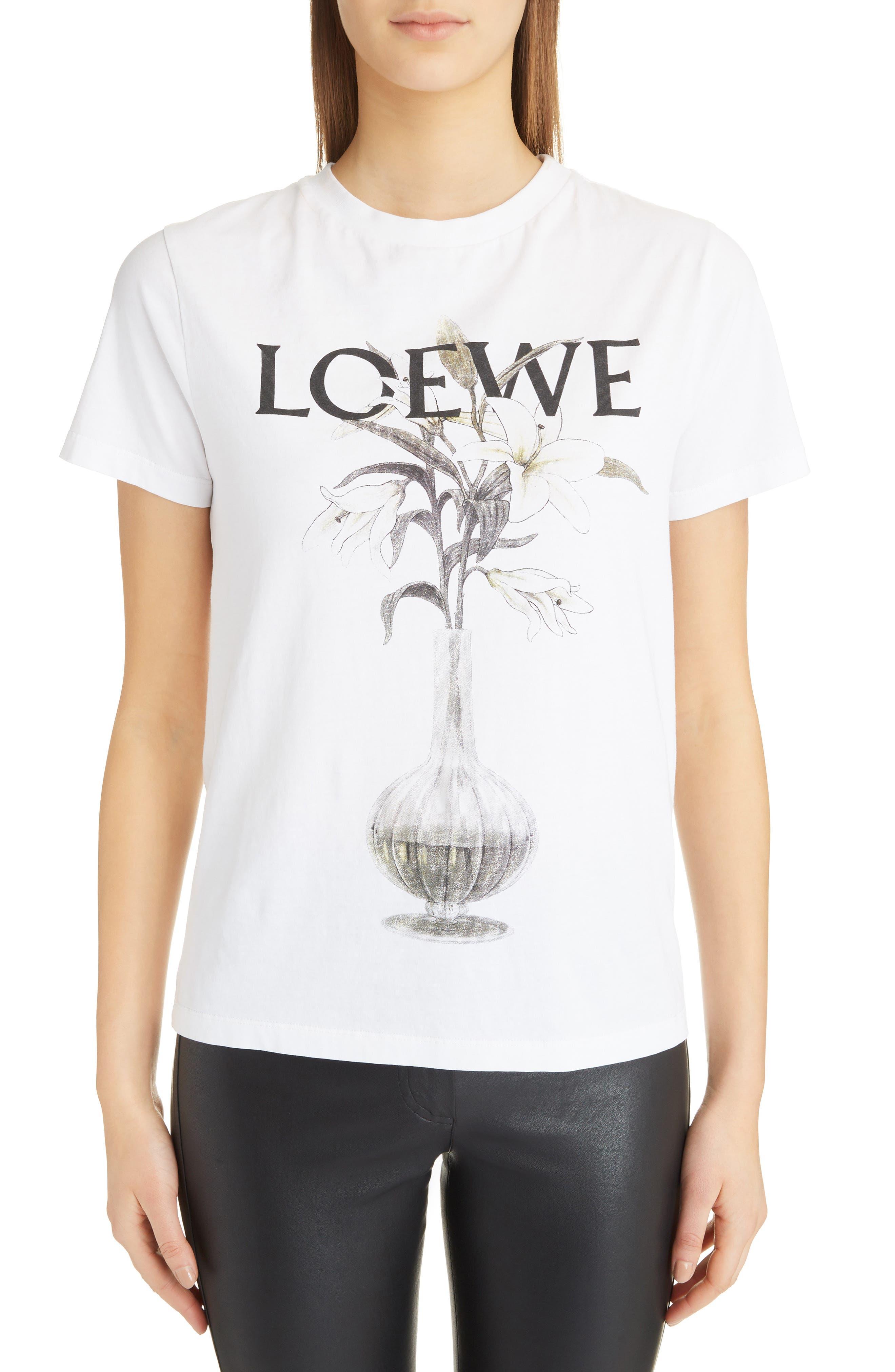 Flower Vase Logo Tee,                         Main,                         color, 100