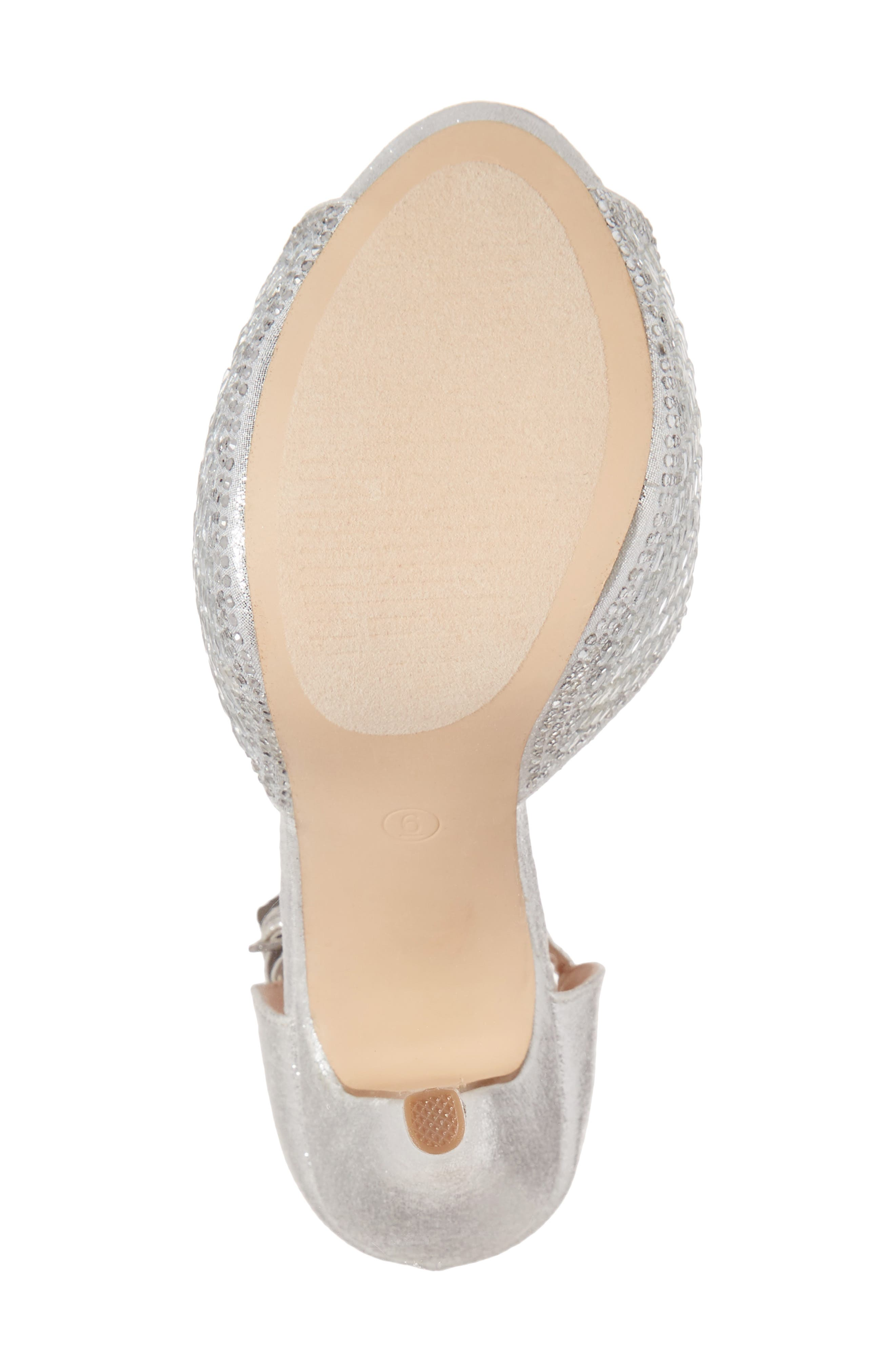 Vivian 4 Crystal Embellished Sandal,                             Alternate thumbnail 17, color,