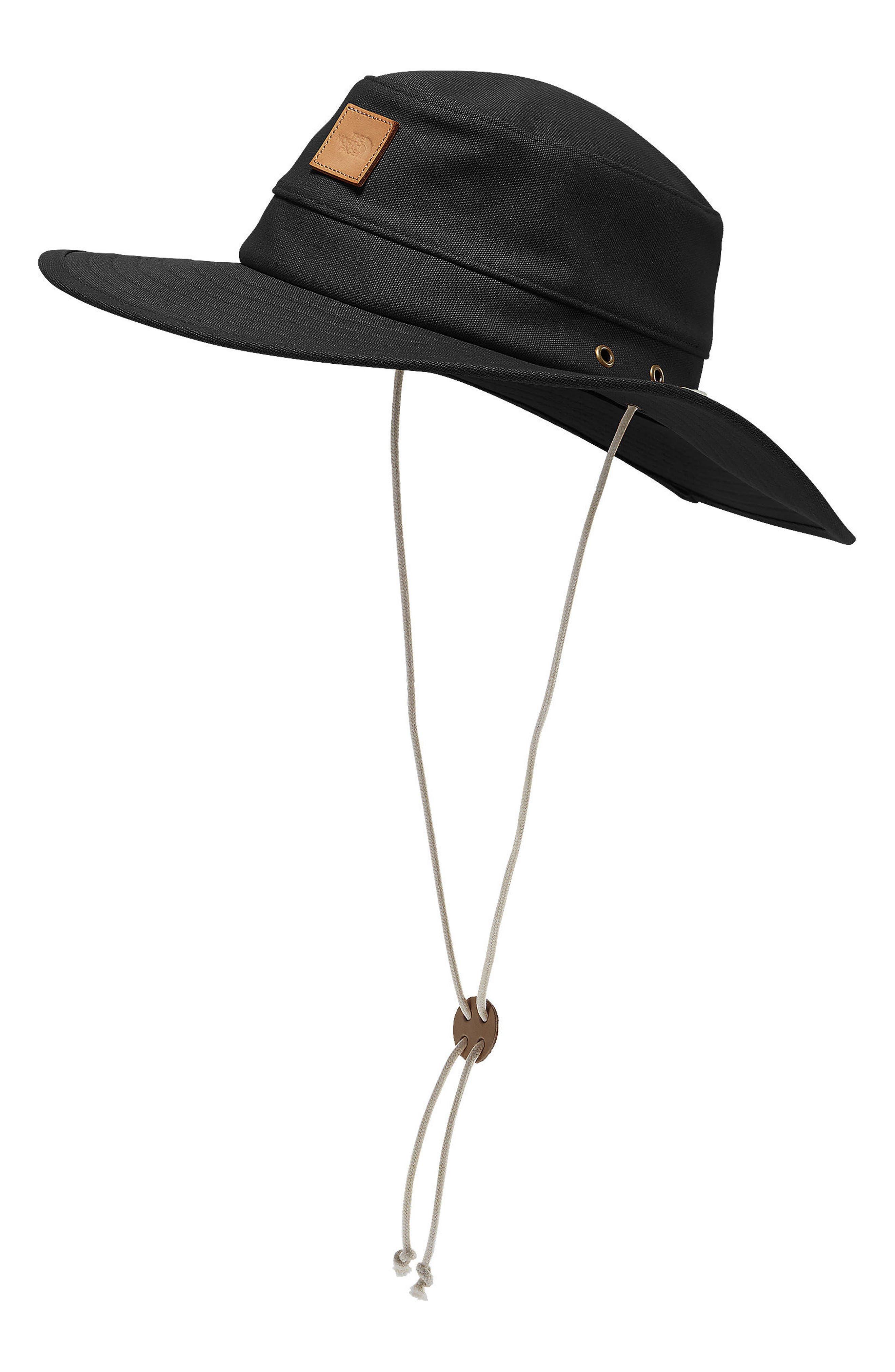 Naturalist Canvas Brimmer Hat,                             Main thumbnail 1, color,                             001