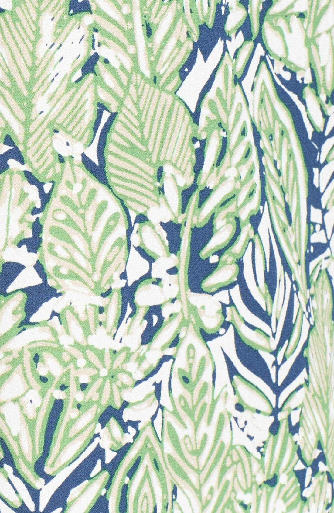 Pleat Back Sleeveless Split Neck Blouse,                             Alternate thumbnail 217, color,
