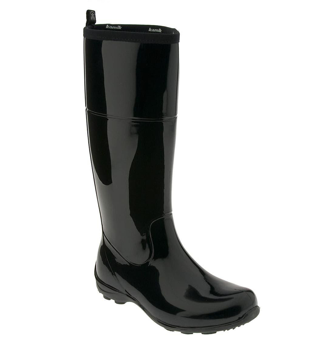 'Ellie' Rain Boot,                             Main thumbnail 1, color,                             001
