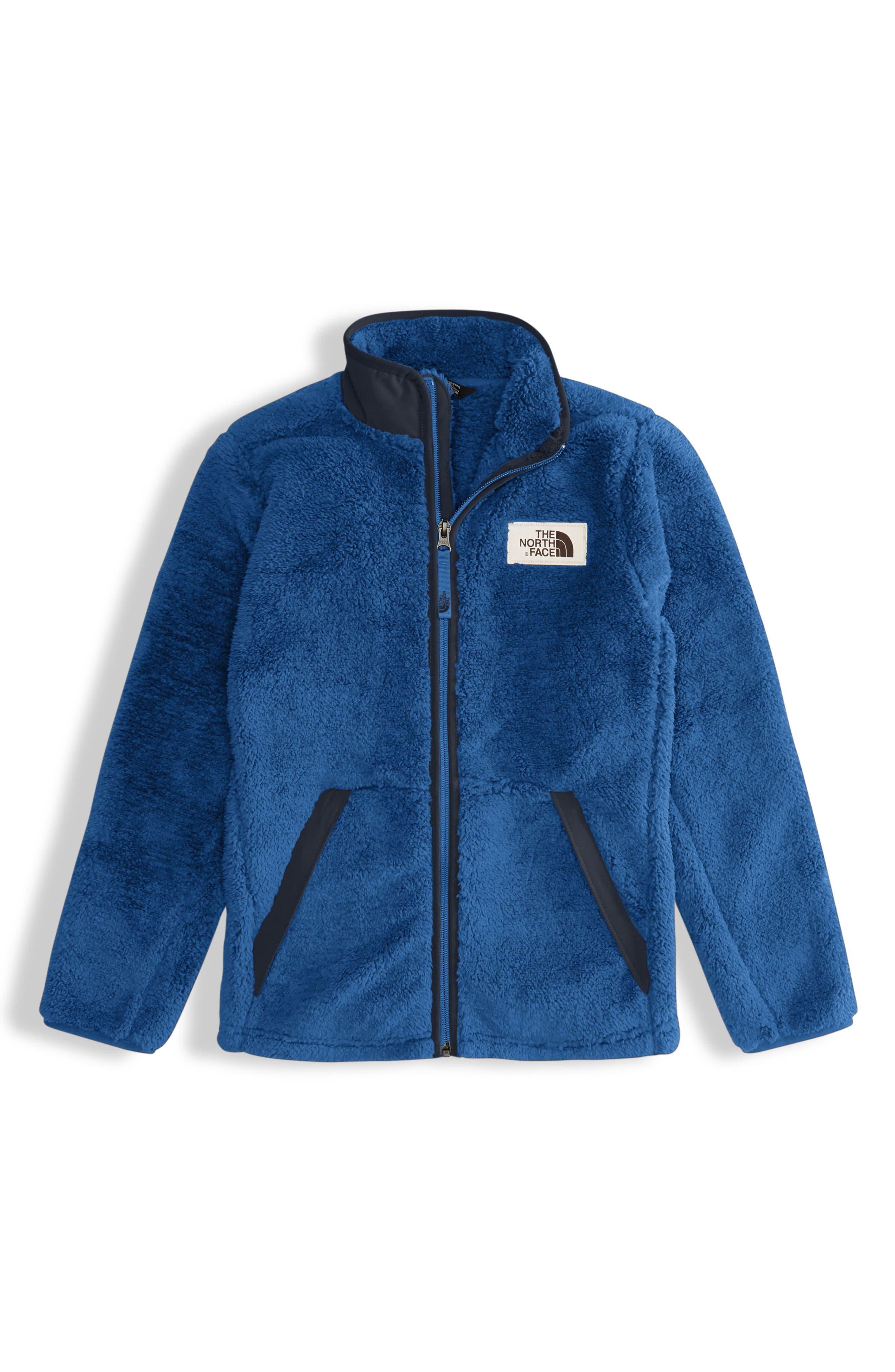 Campshire Full Zip Jacket,                             Main thumbnail 1, color,                             SHADY BLUE