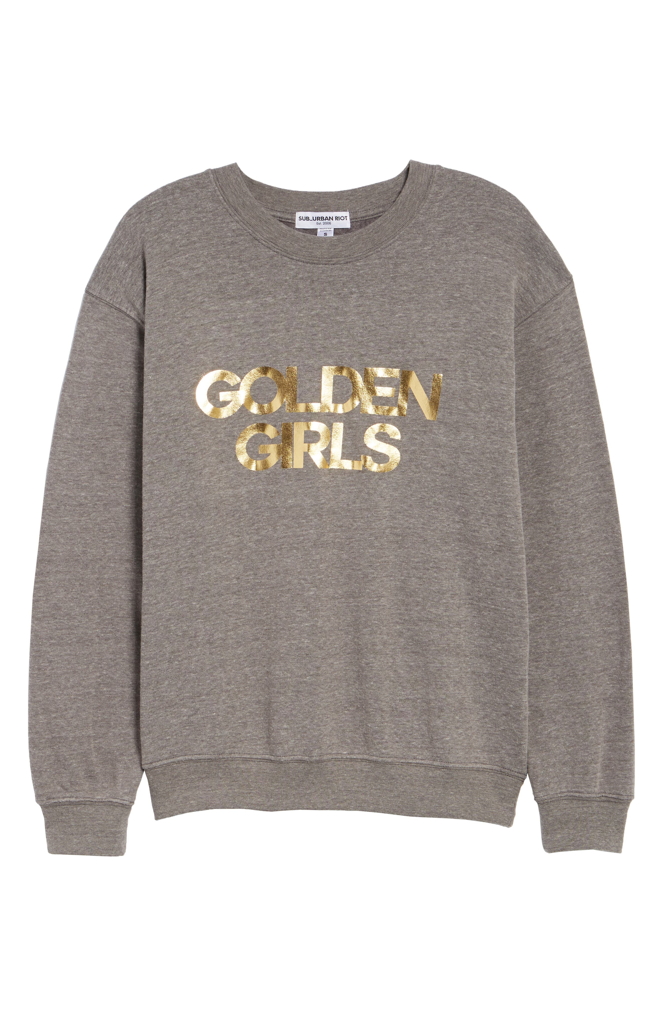 Golden Girls Willow Sweatshirt,                             Alternate thumbnail 7, color,                             050