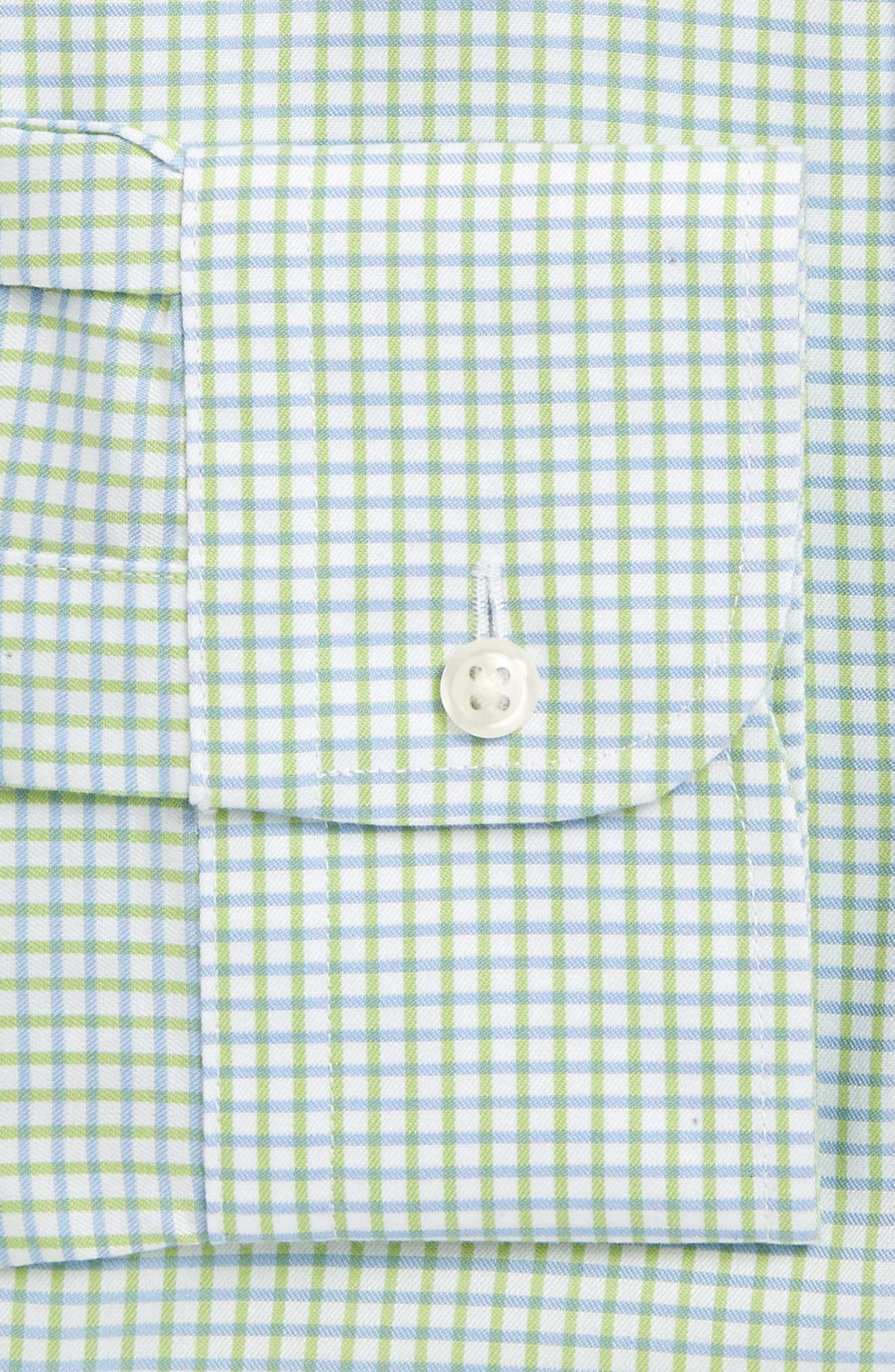 Smartcare<sup>™</sup> Traditional Fit Check Dress Shirt,                             Alternate thumbnail 4, color,                             311