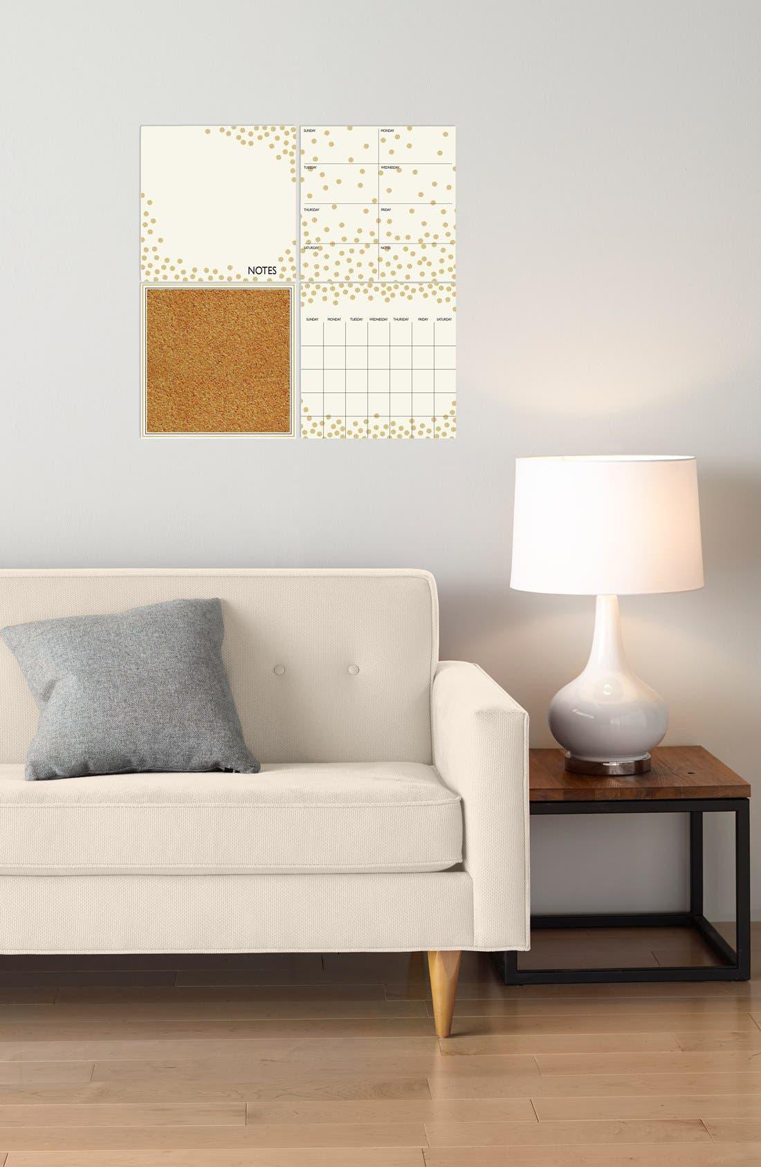 'Confetti' Wall Decal Organization Kit,                             Alternate thumbnail 3, color,                             710