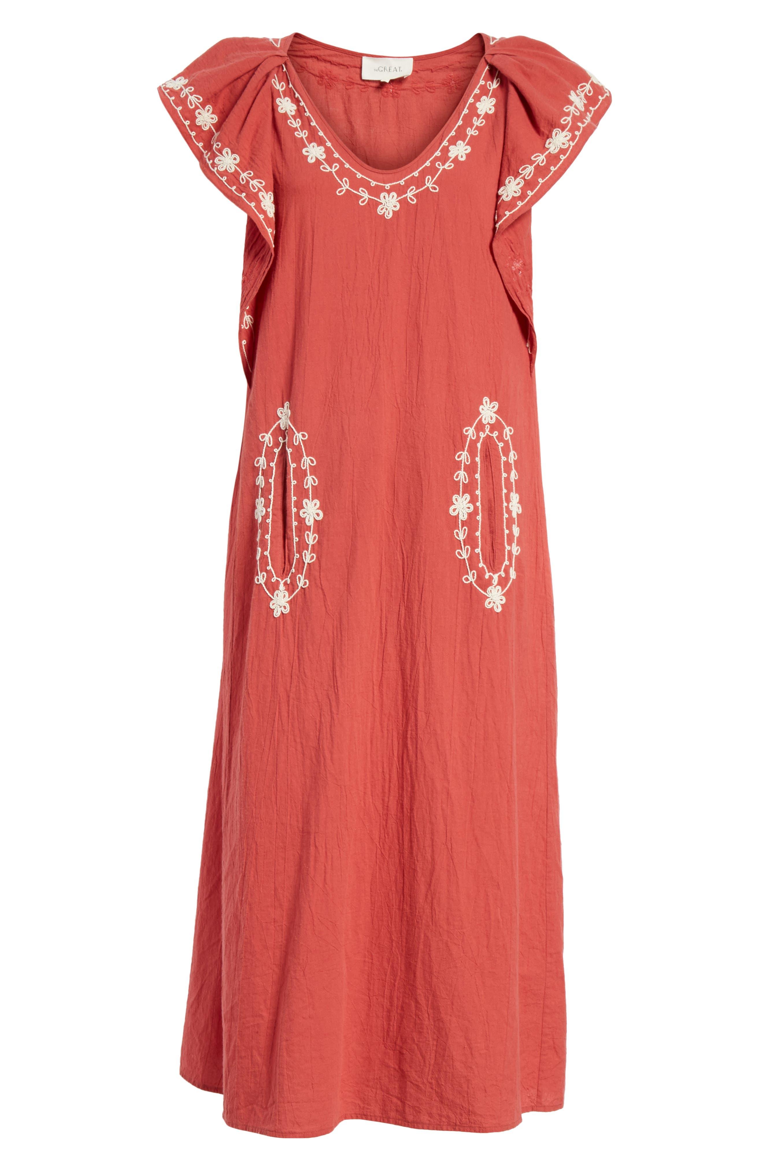 The Vineyard Dress,                             Alternate thumbnail 6, color,                             600