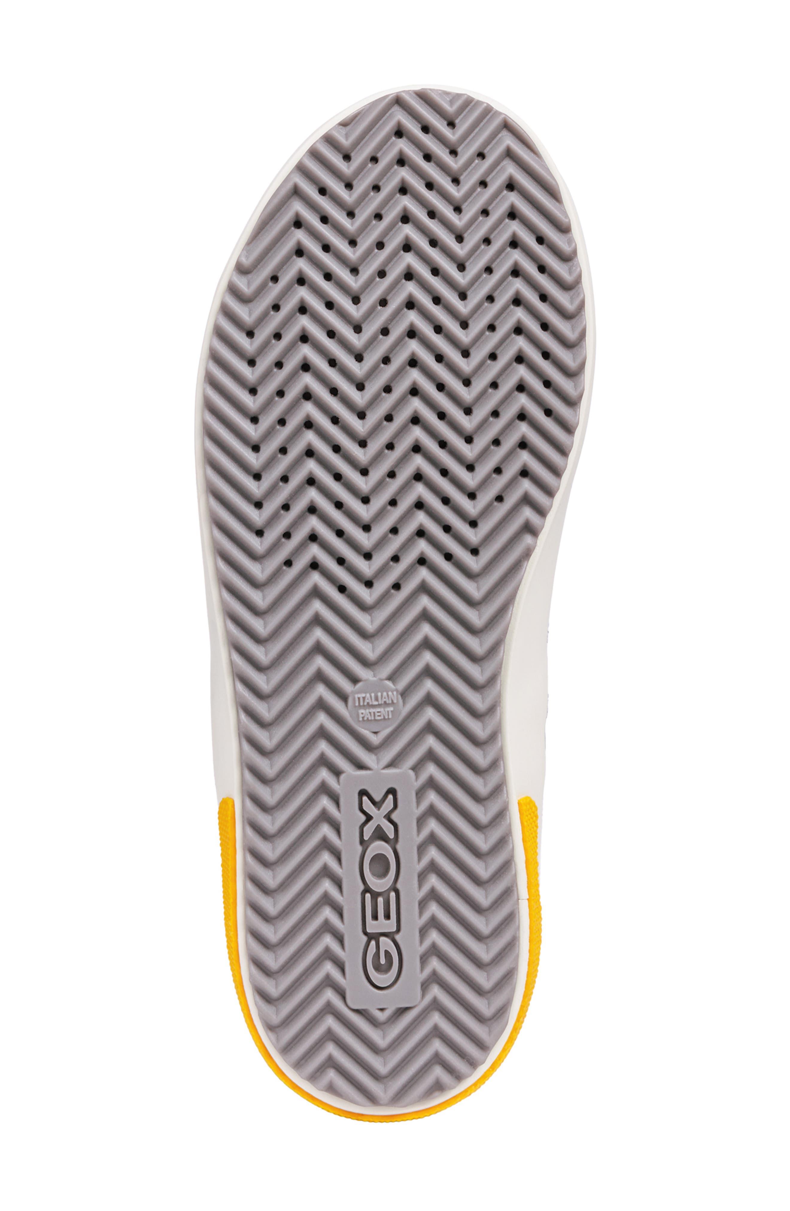 Alonisso 24 High Top Sneaker,                             Alternate thumbnail 5, color,                             DARK GREY/YELLOW
