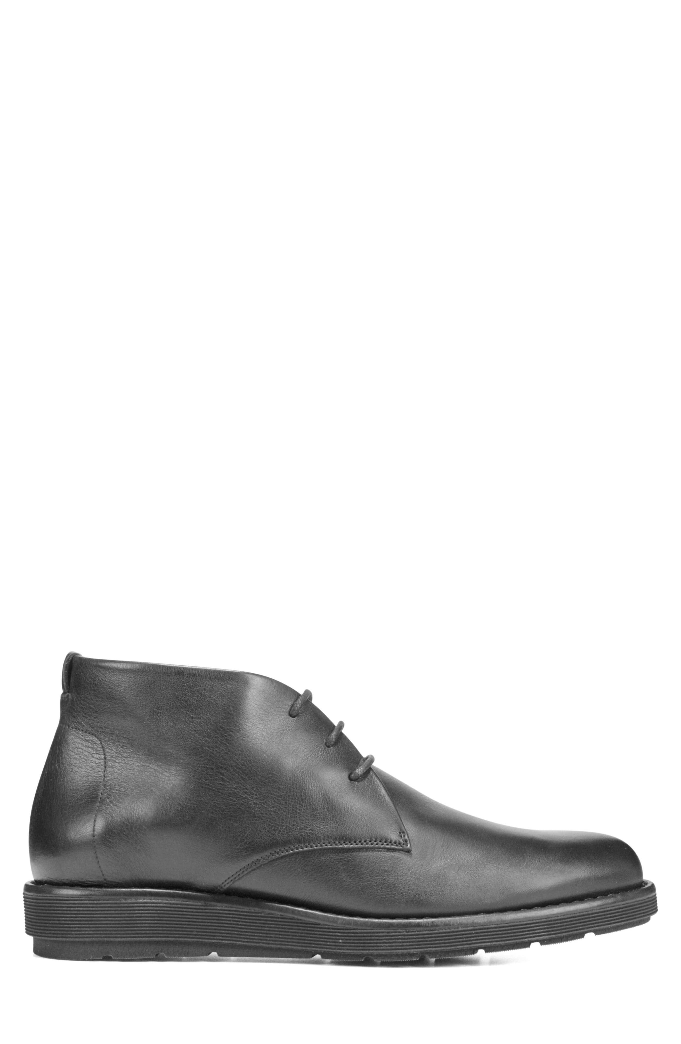 Walden Chukka Boot,                             Alternate thumbnail 3, color,                             BLACK