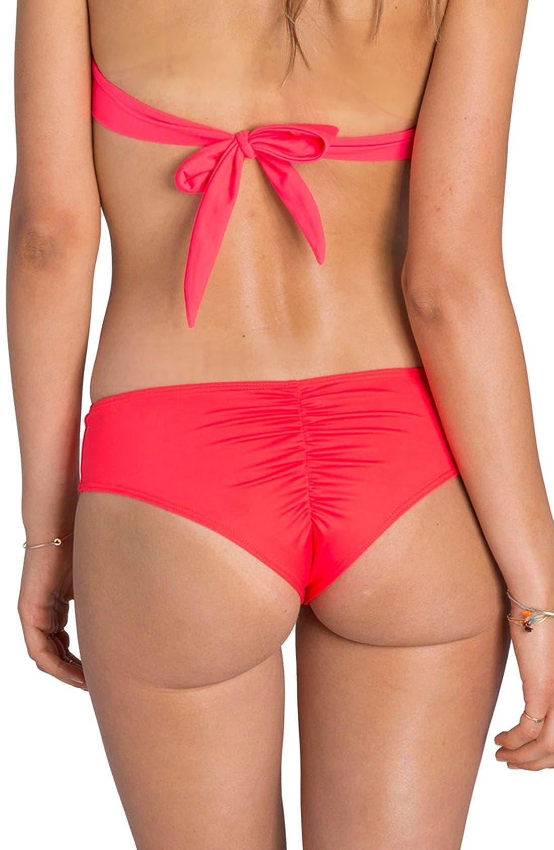 'Sol Searcher Hawaii' Cheeky Bikini Bottoms,                             Alternate thumbnail 17, color,