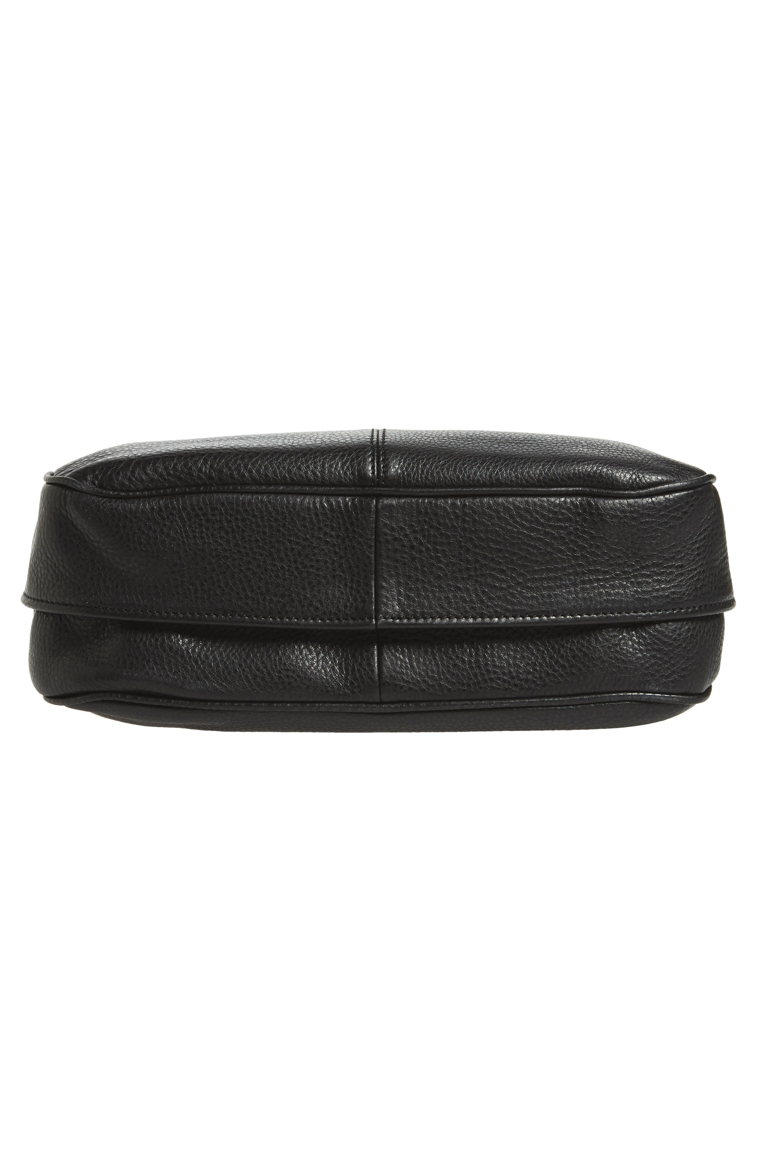 Mystery Leather Satchel,                             Alternate thumbnail 6, color,                             001