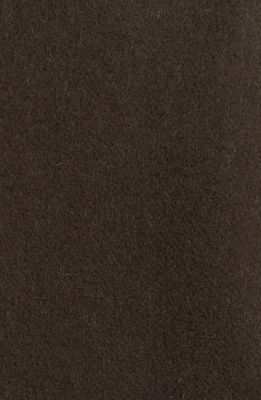 Reversible Wool & Angora Car Coat,                             Alternate thumbnail 2, color,                             020