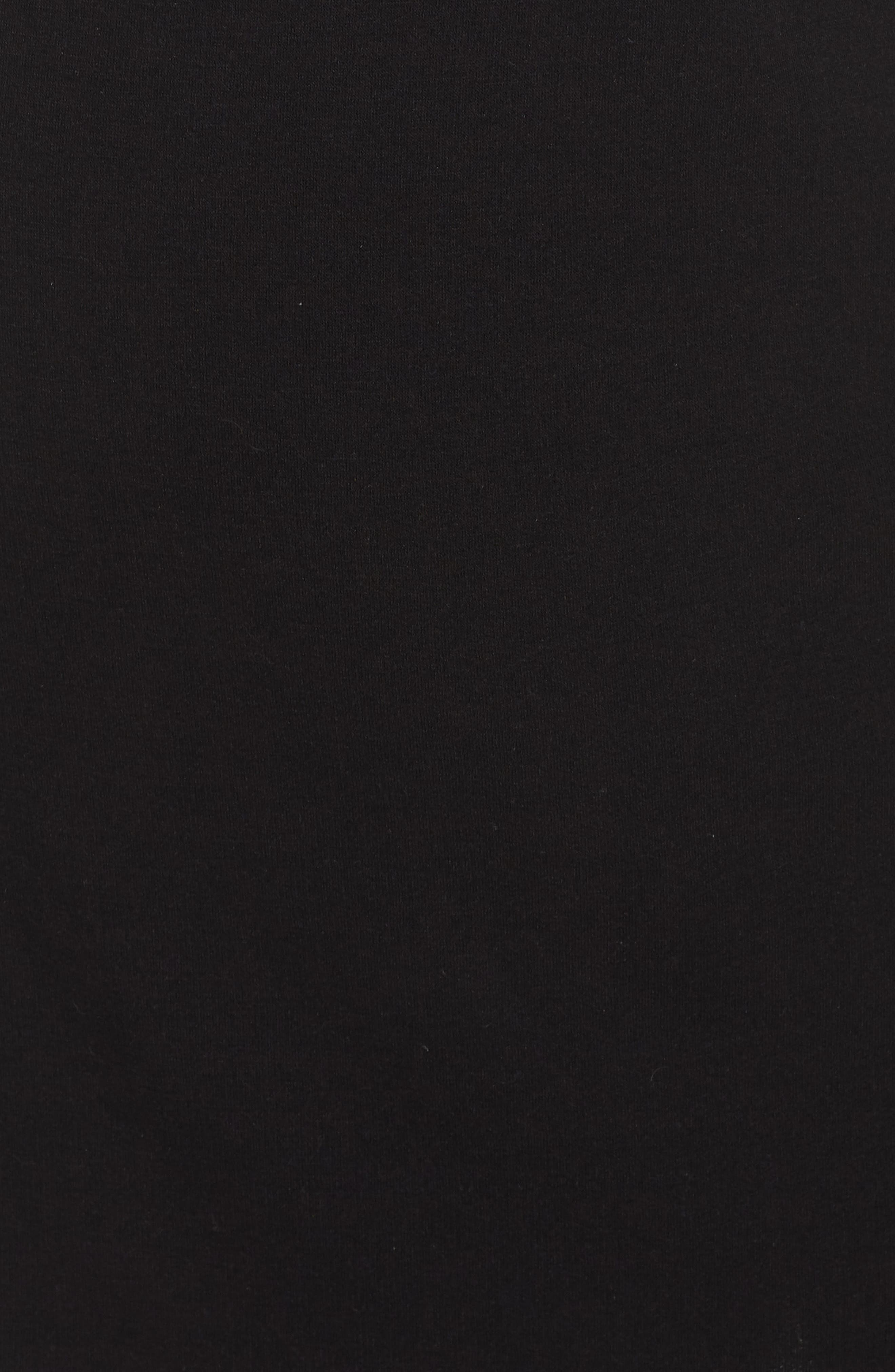 Off-Duty Tie Waist Miniskirt,                             Alternate thumbnail 5, color,                             001