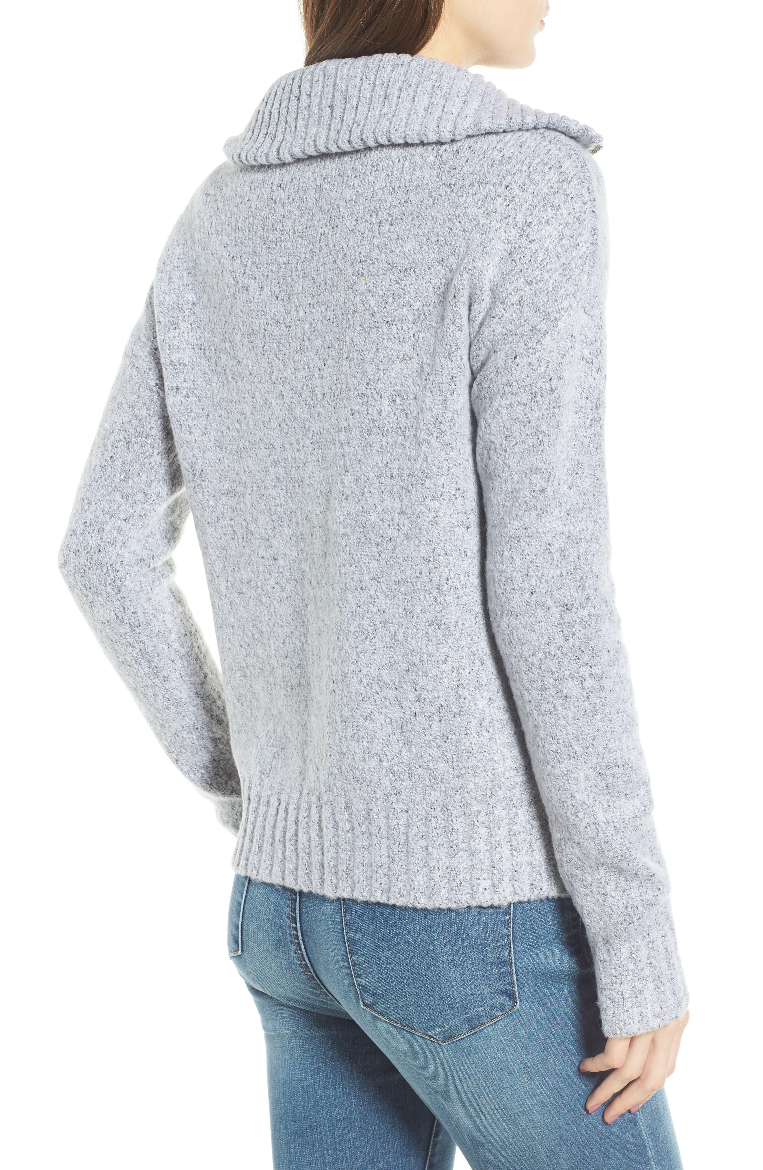 Quarter Zip Sweater,                             Alternate thumbnail 2, color,                             020