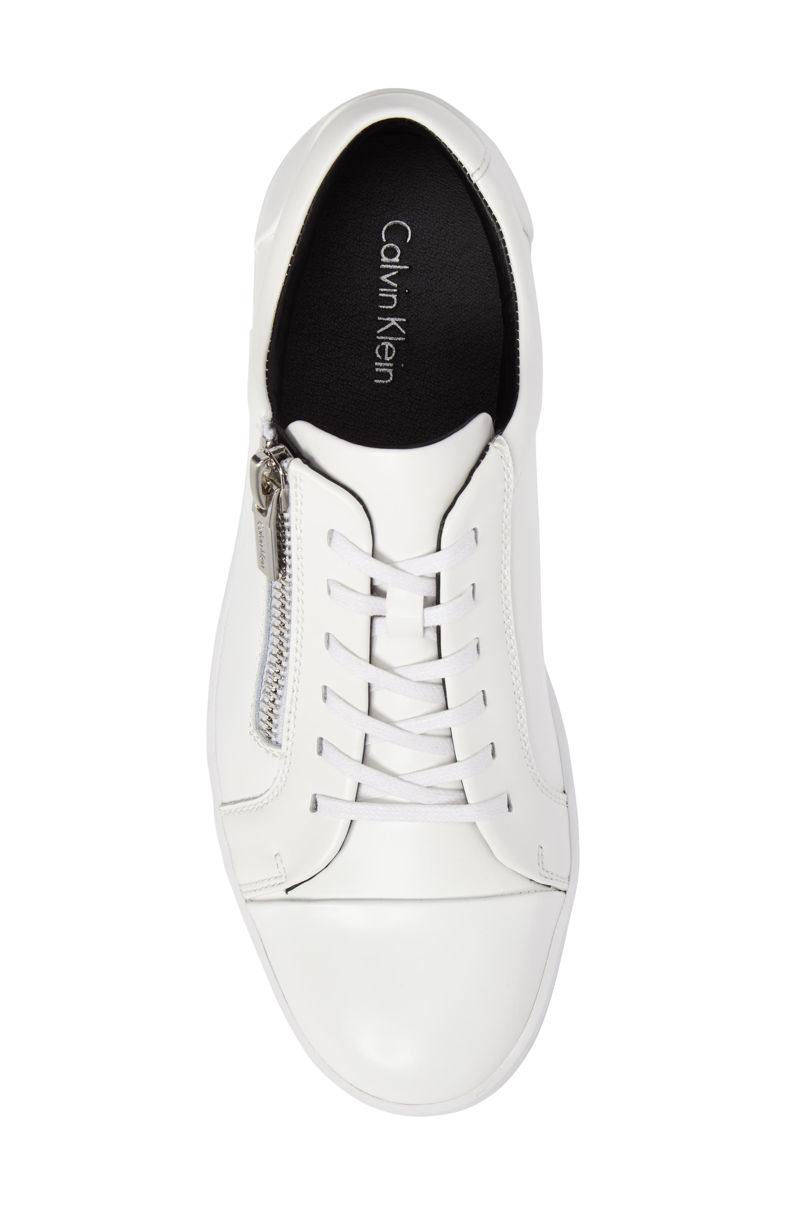Ibrahim Cap-Toe Zip Sneaker,                             Alternate thumbnail 14, color,