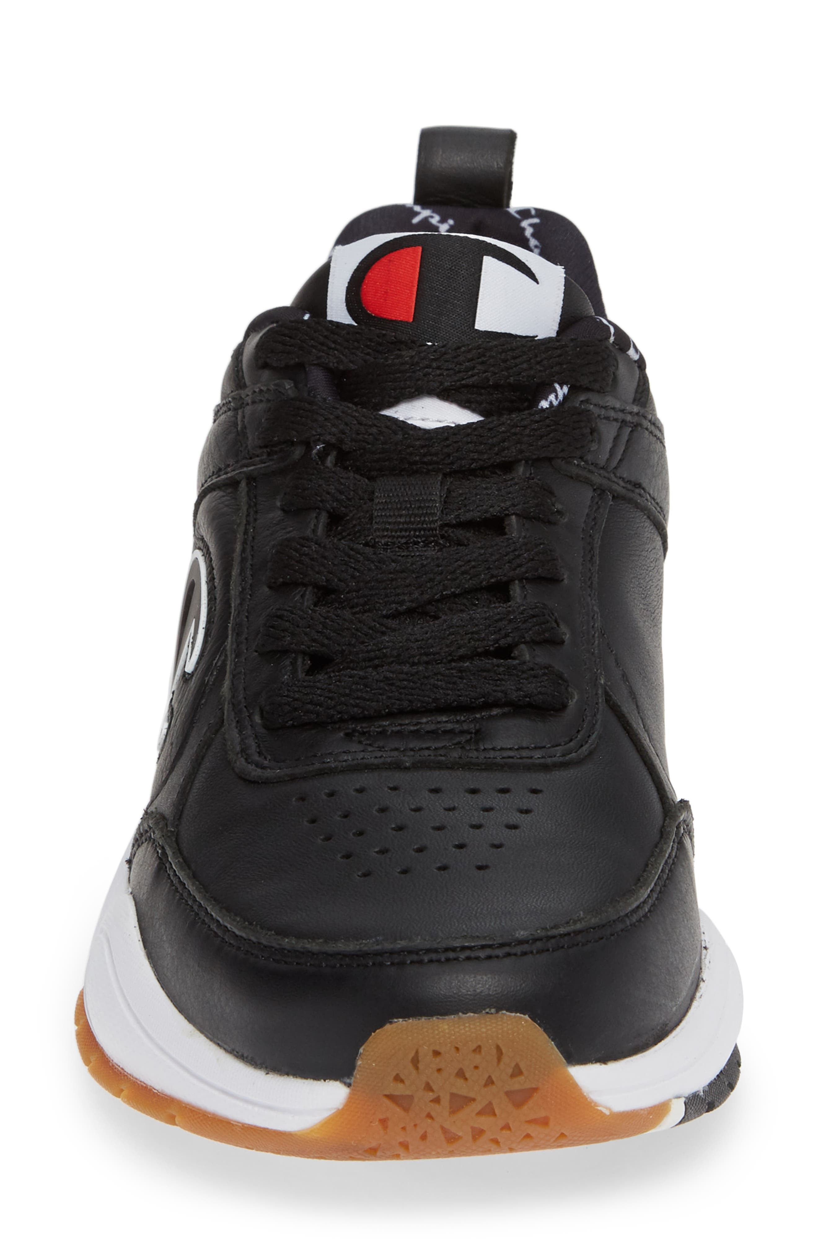 93 Eighteen Sneaker,                             Alternate thumbnail 4, color,                             BLACK