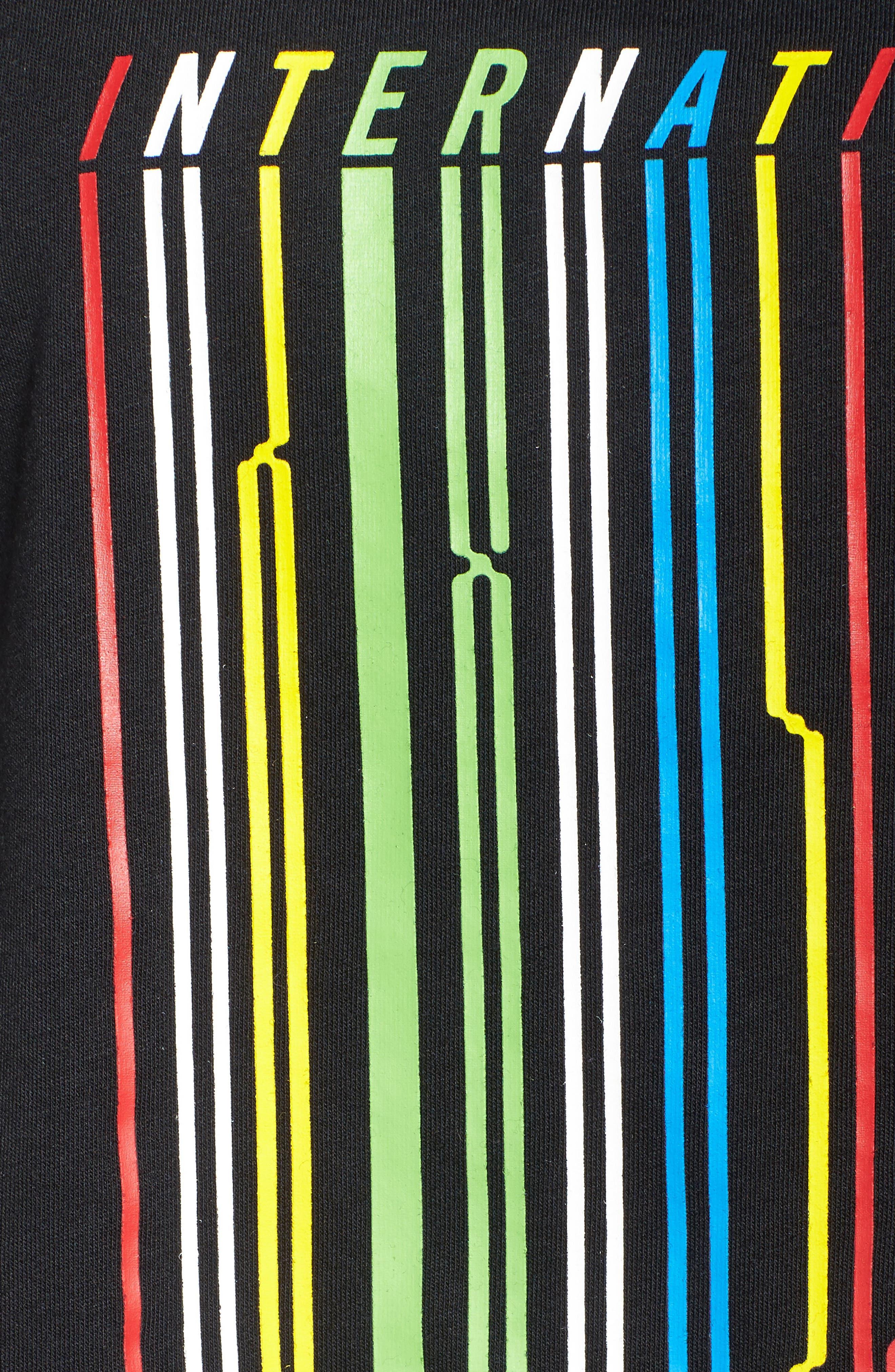International Drop Crop Tee,                             Alternate thumbnail 9, color,