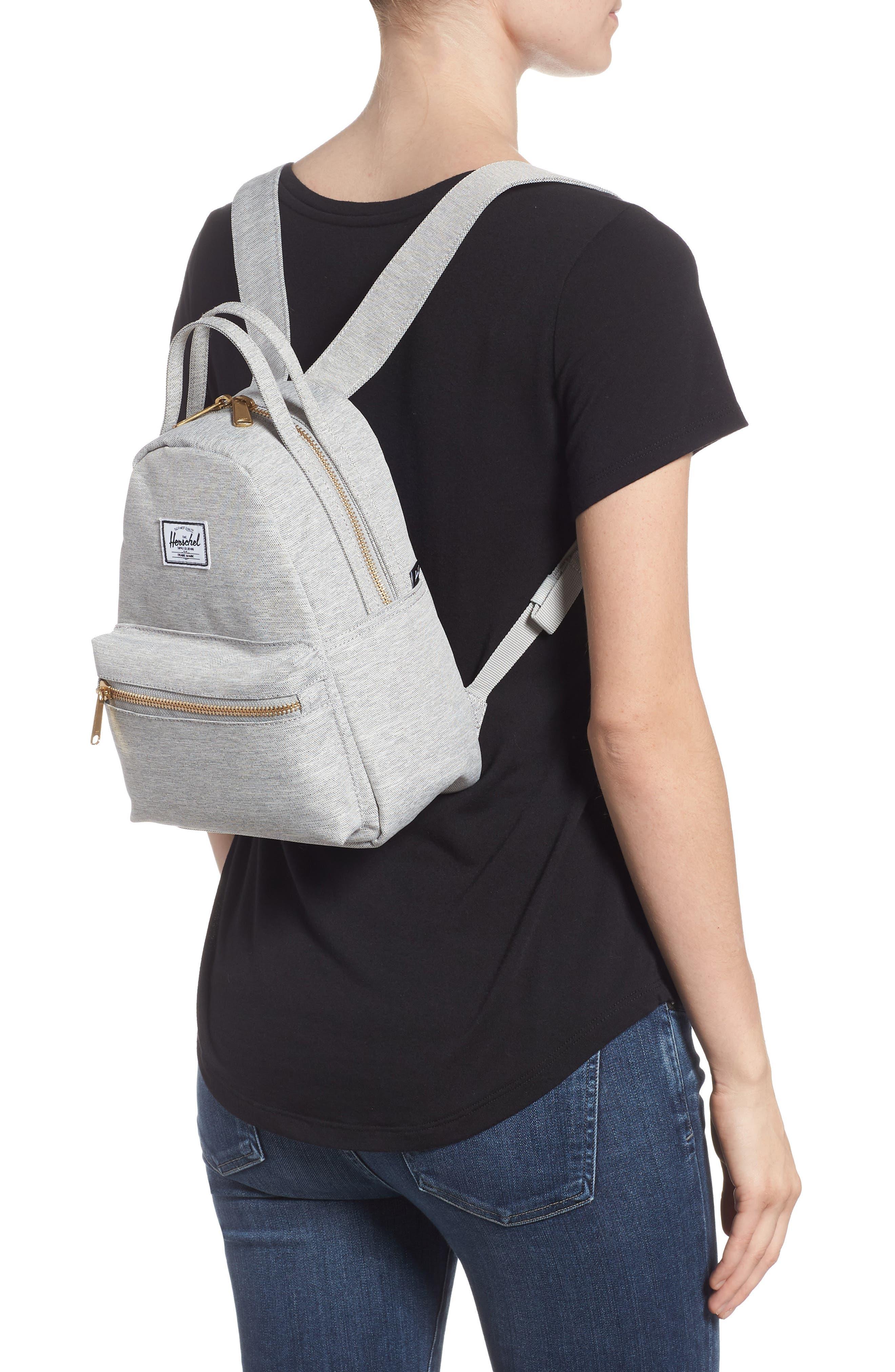 Mini Nova Backpack,                             Alternate thumbnail 2, color,                             LIGHT GREY CROSSHATCH