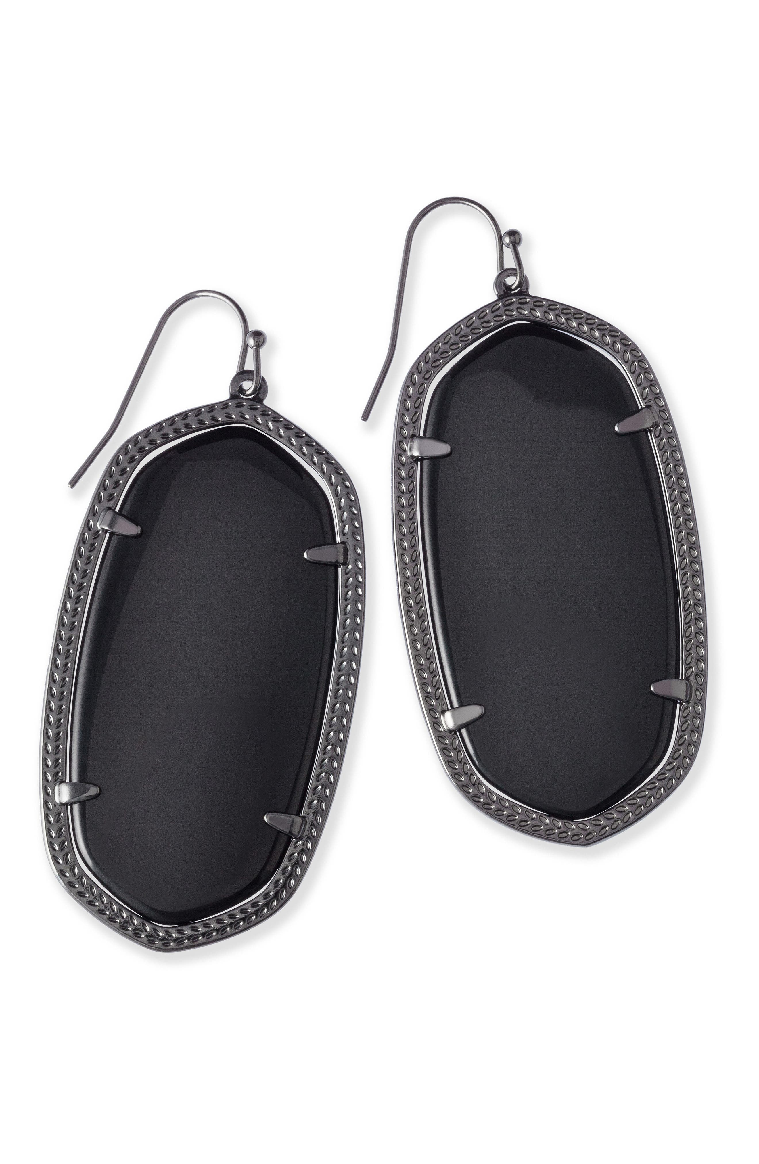 Danielle - Large Oval Statement Earrings,                             Alternate thumbnail 219, color,