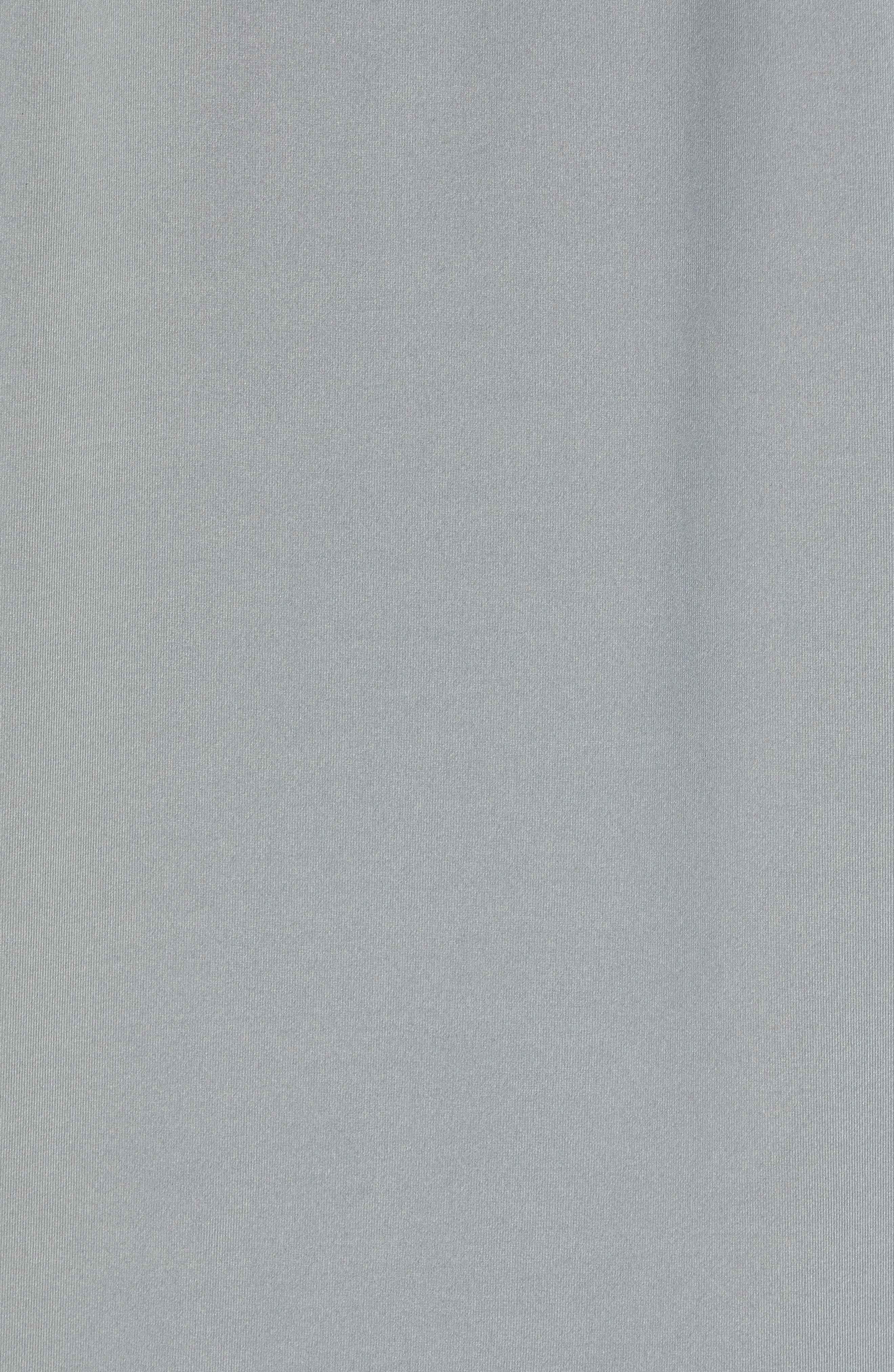 Stripe Performance T-Shirt,                             Alternate thumbnail 5, color,                             GRAPHITE