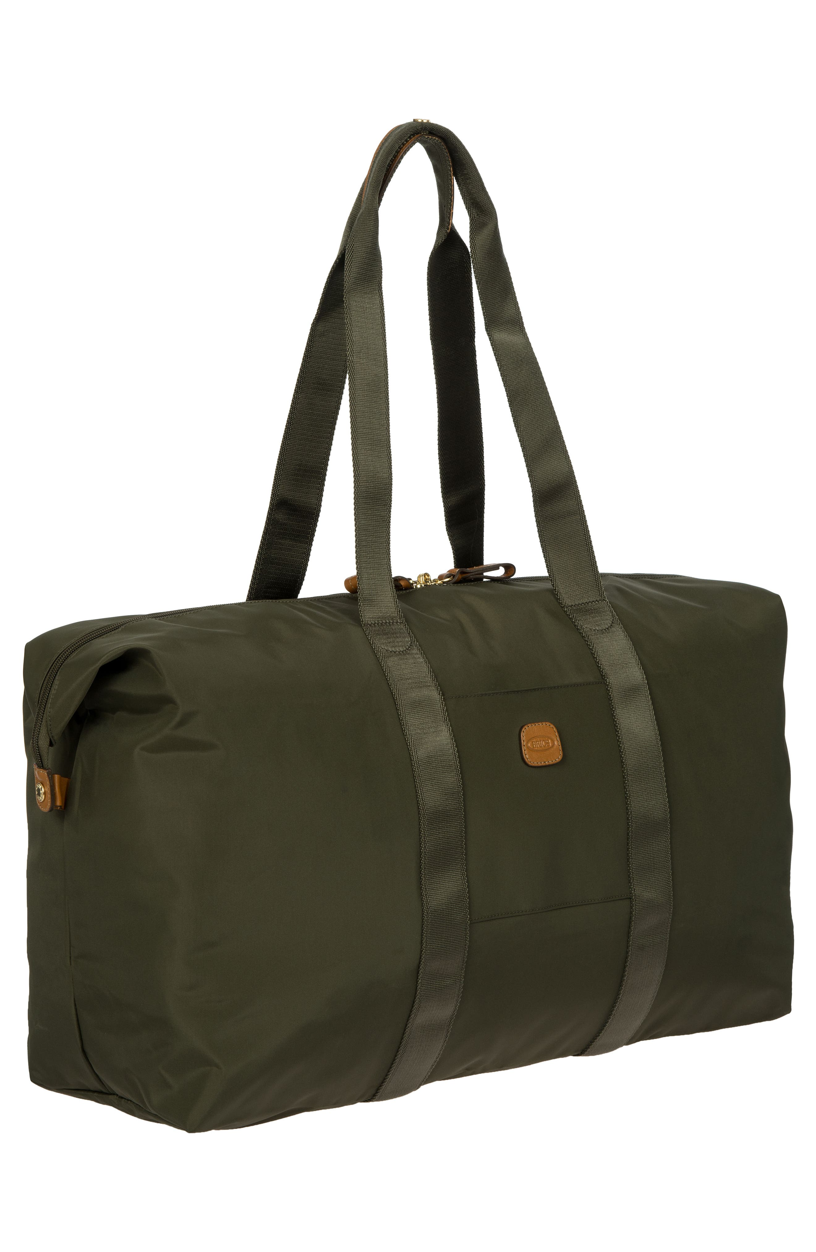 X-Bag 22-Inch Folding Duffel Bag,                             Alternate thumbnail 4, color,                             OLIVE
