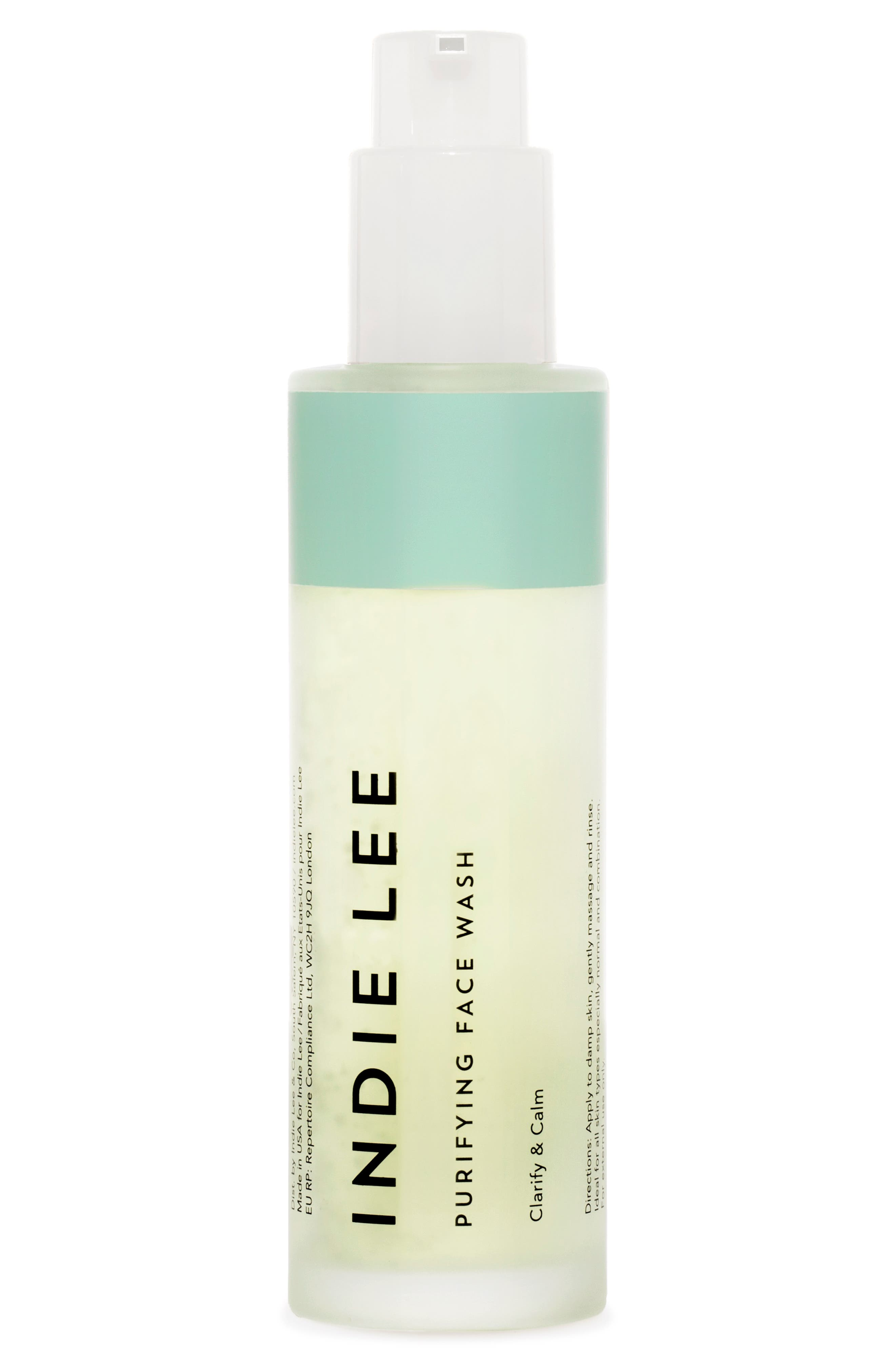 INDIE LEE Purifying Face Wash, 4.2 Oz./ 125 Ml