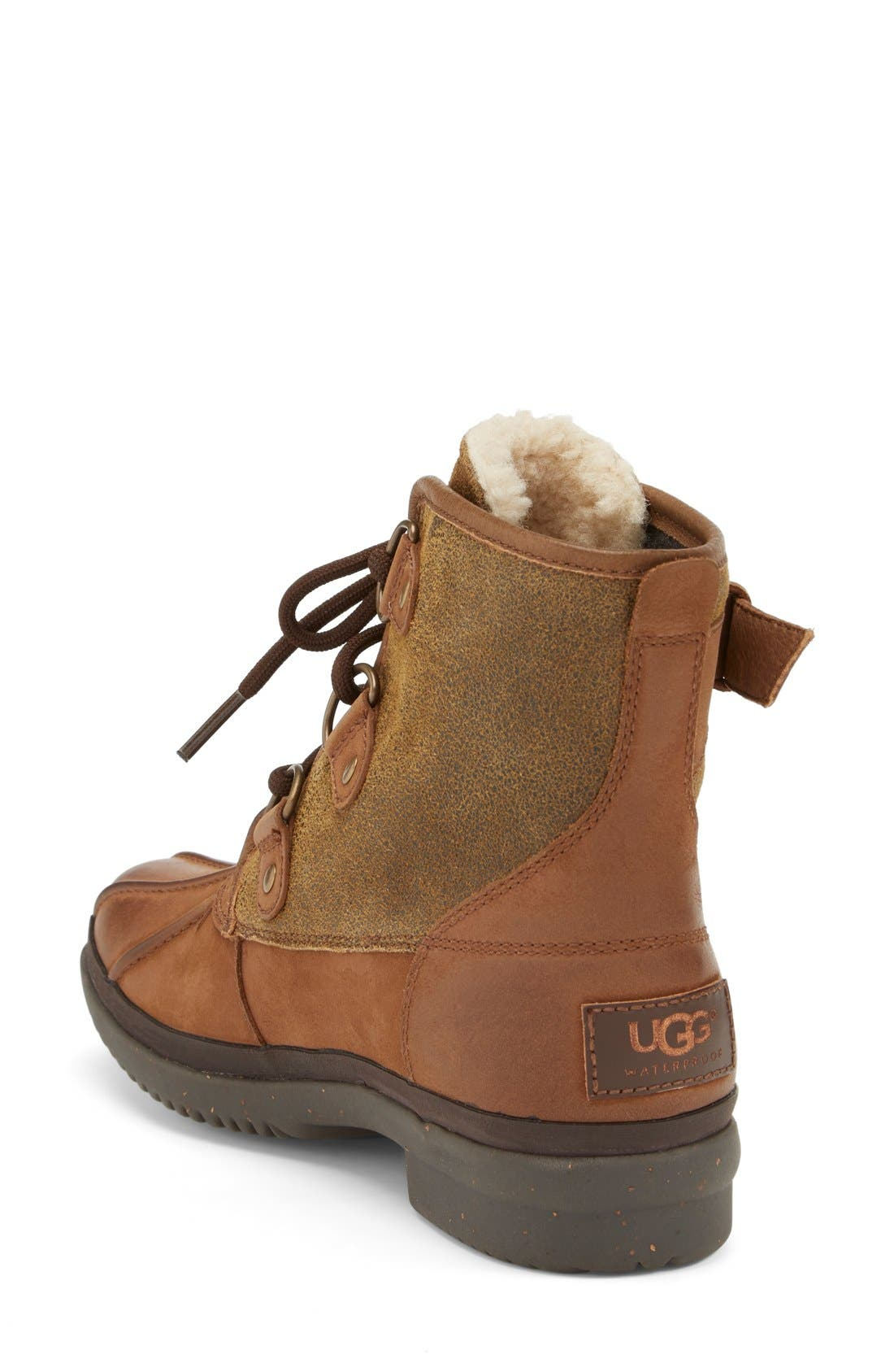 Cecile Waterproof Boot,                             Alternate thumbnail 4, color,