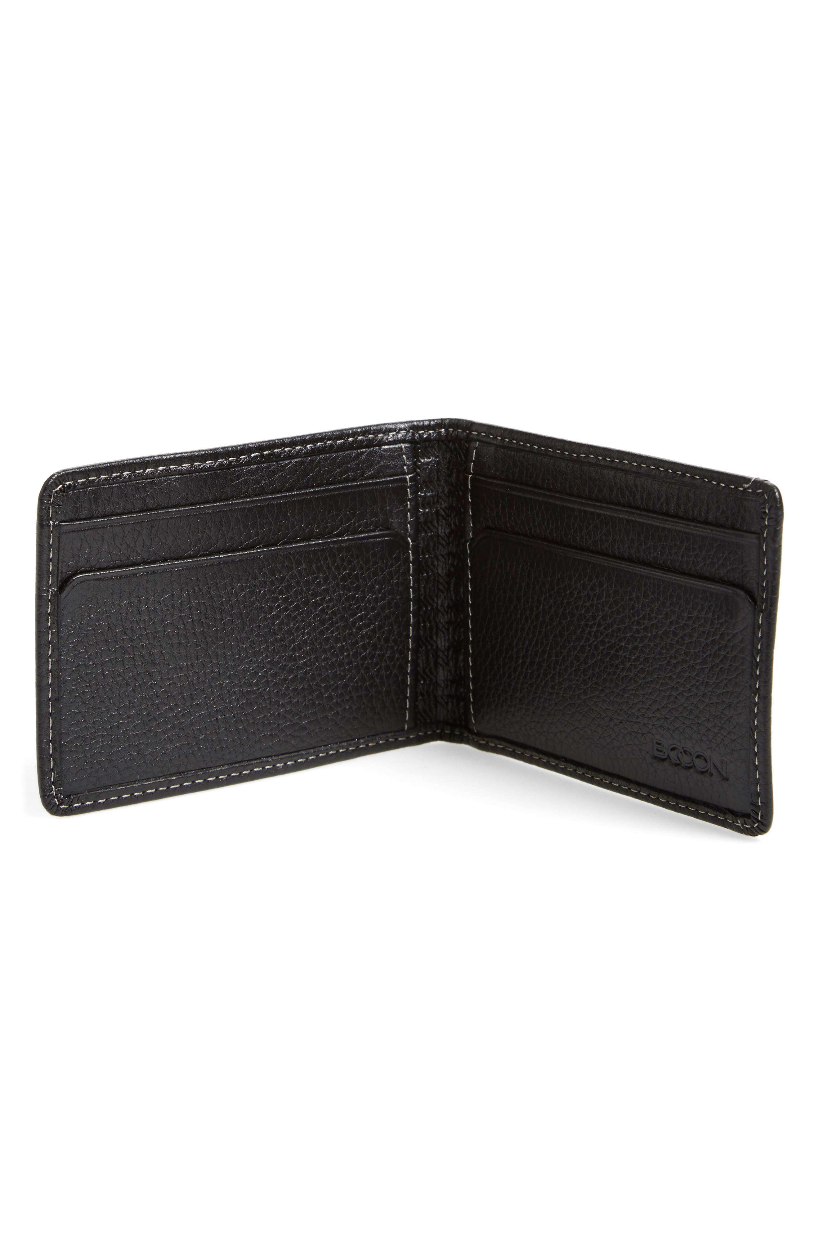 'Tyler' Money Clip Wallet,                             Alternate thumbnail 2, color,                             001