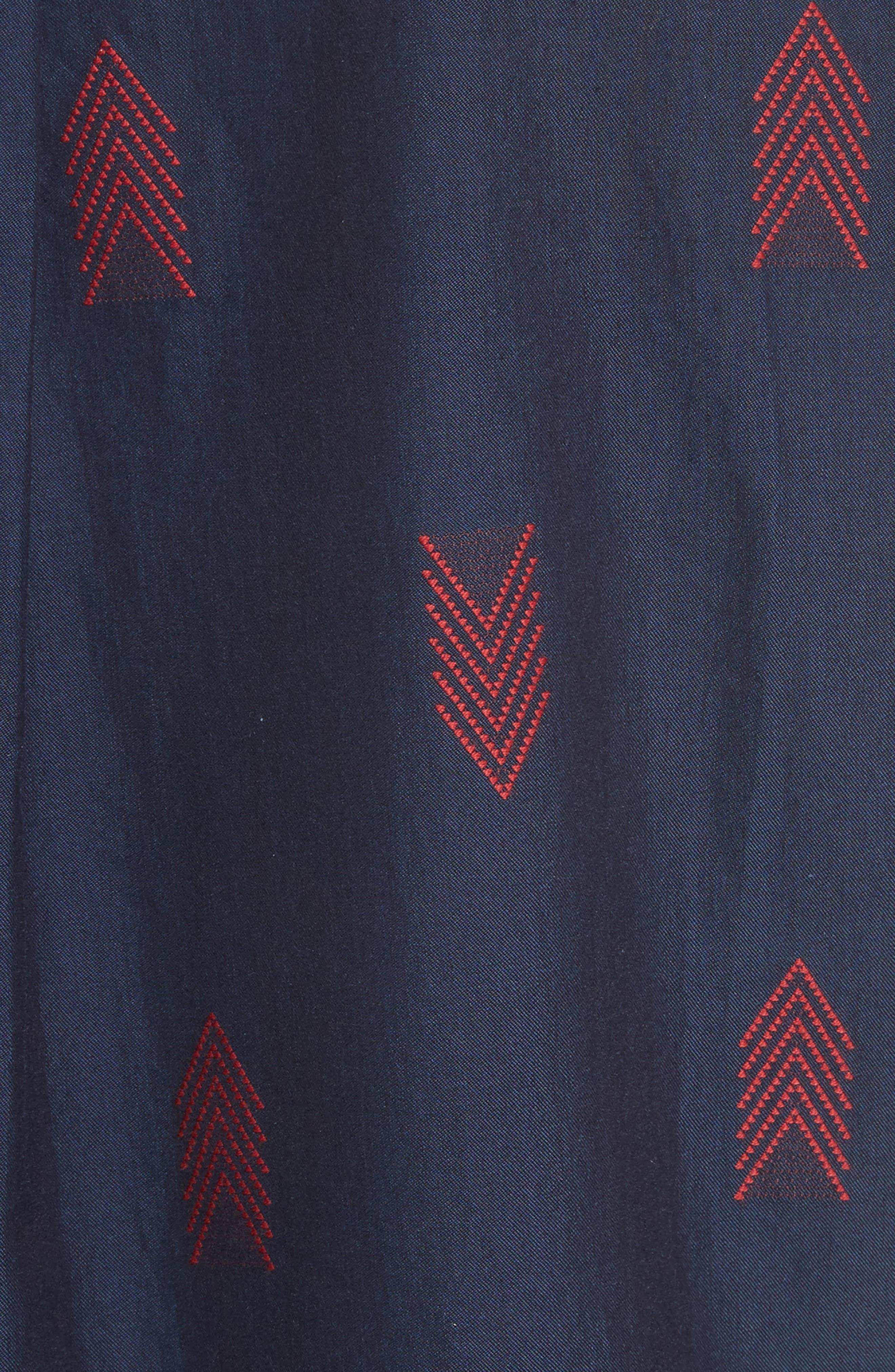 Short Sleeve Woven Shirt,                             Alternate thumbnail 5, color,                             420