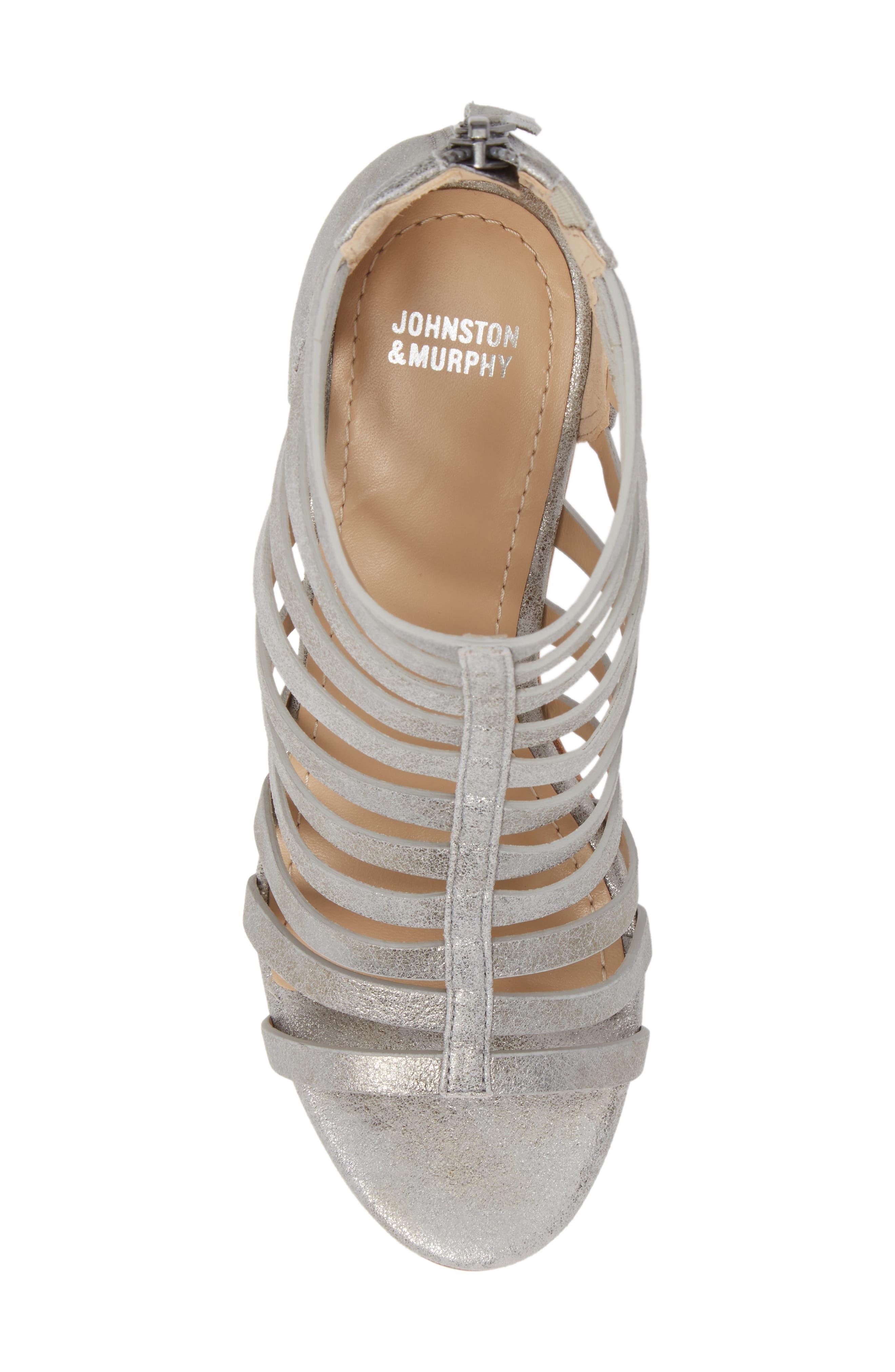 Geneva Strappy Wedge Sandal,                             Alternate thumbnail 9, color,