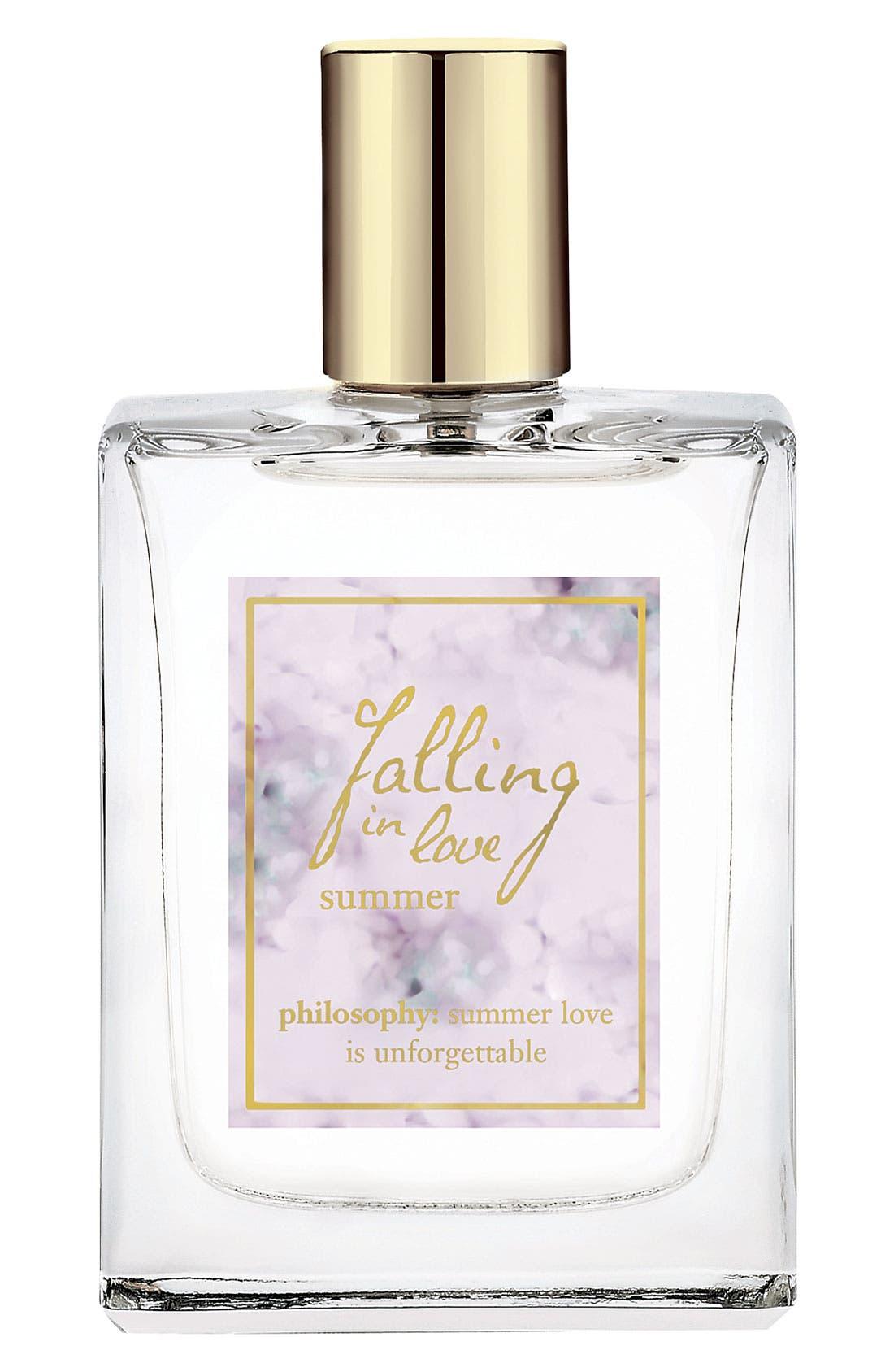 'falling in love summer' spray fragrance,                             Main thumbnail 1, color,                             000