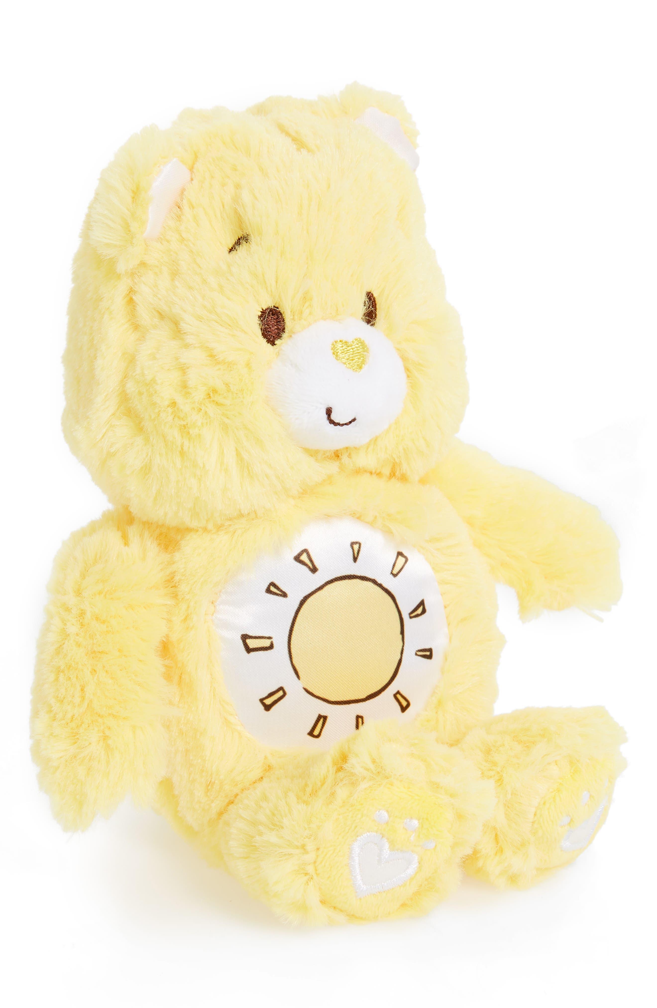 KIDS PREFERRED,                             Care Bears Funshine Bear Plush Toy,                             Main thumbnail 1, color,                             YELLOW