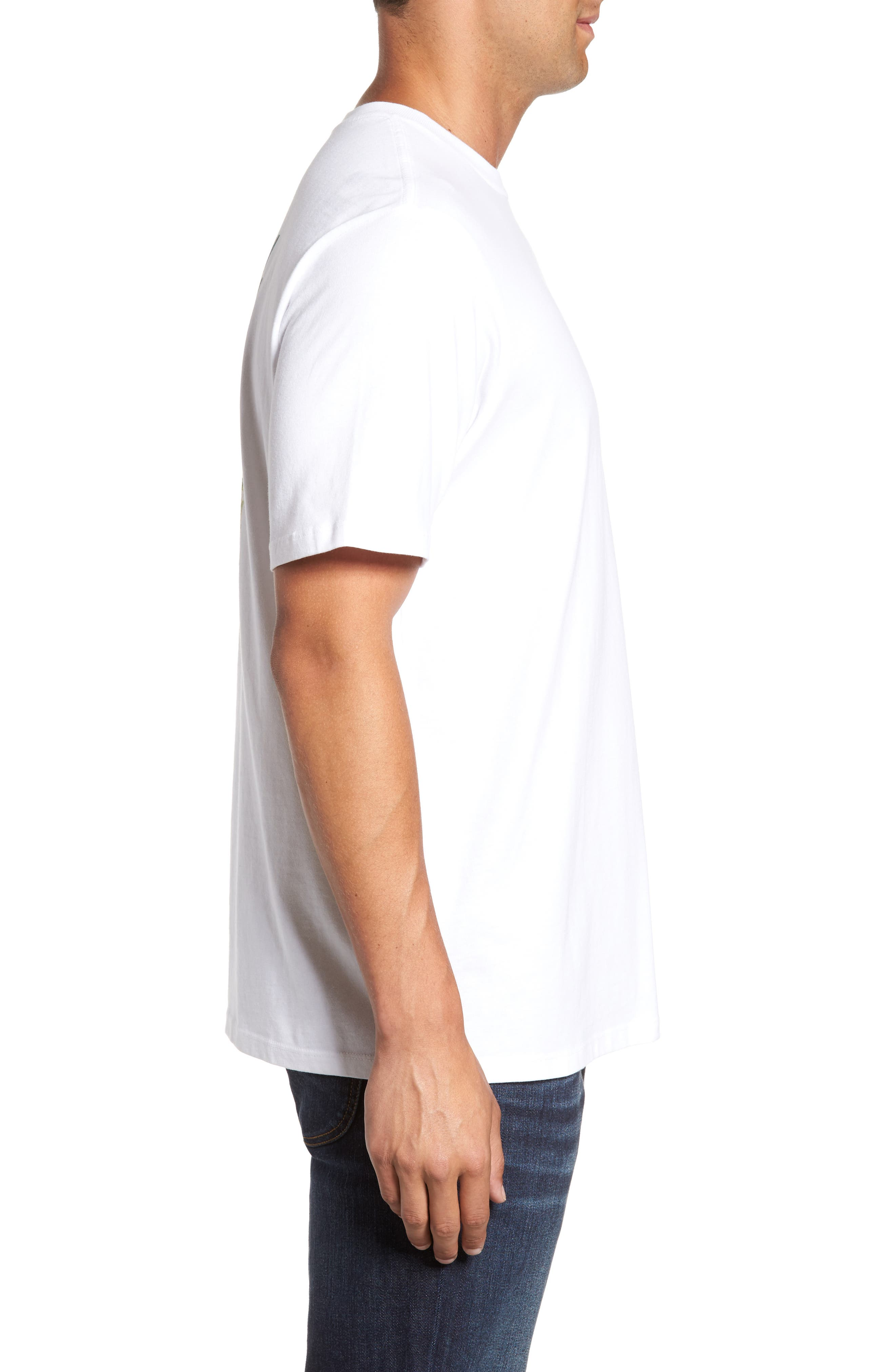 Gull Tending Standard Fit T-Shirt,                             Alternate thumbnail 3, color,                             100