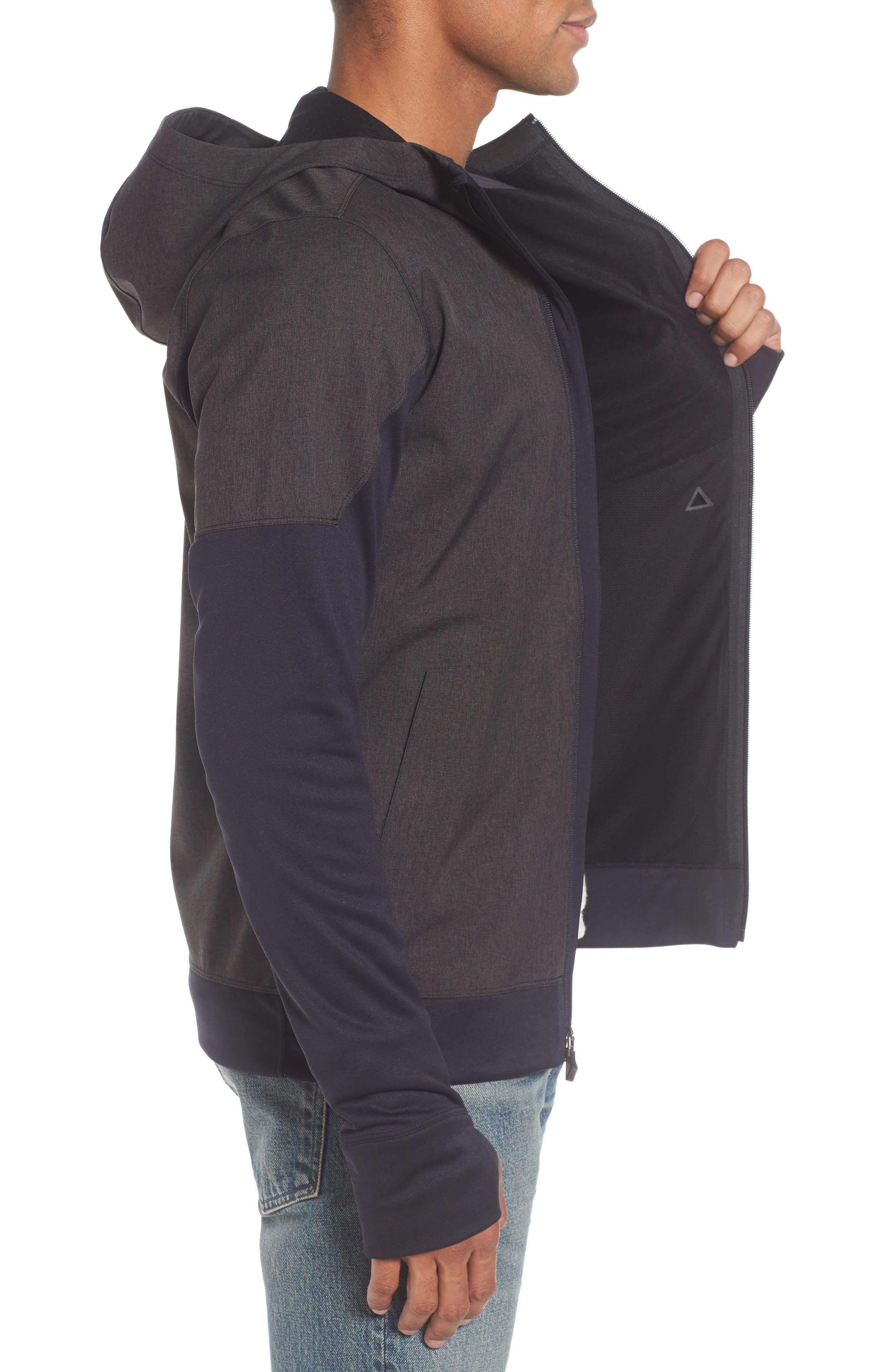 'Kilowatt' Hooded Jacket,                             Alternate thumbnail 3, color,                             001
