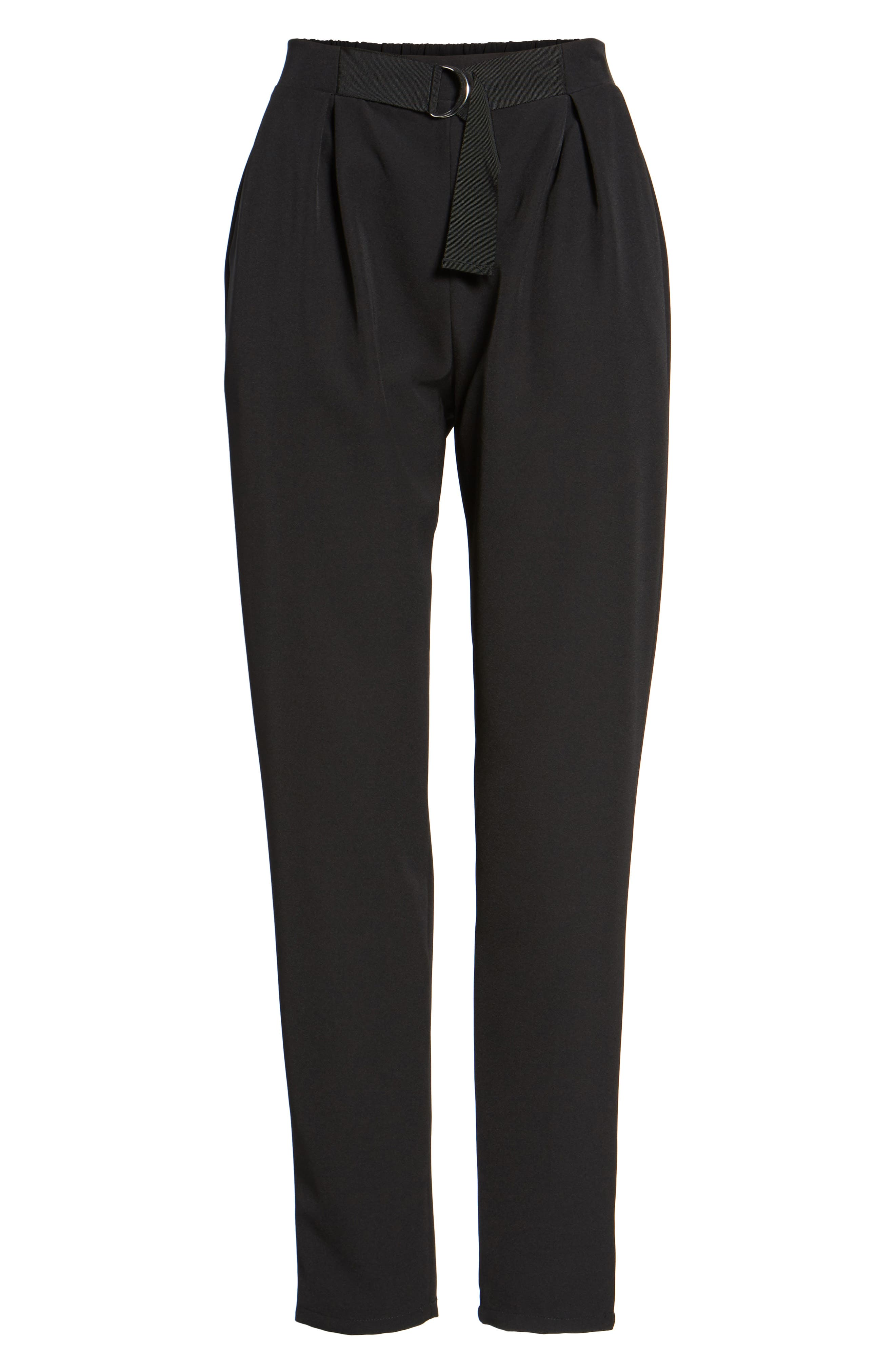 Tapered Trousers,                             Alternate thumbnail 6, color,                             001