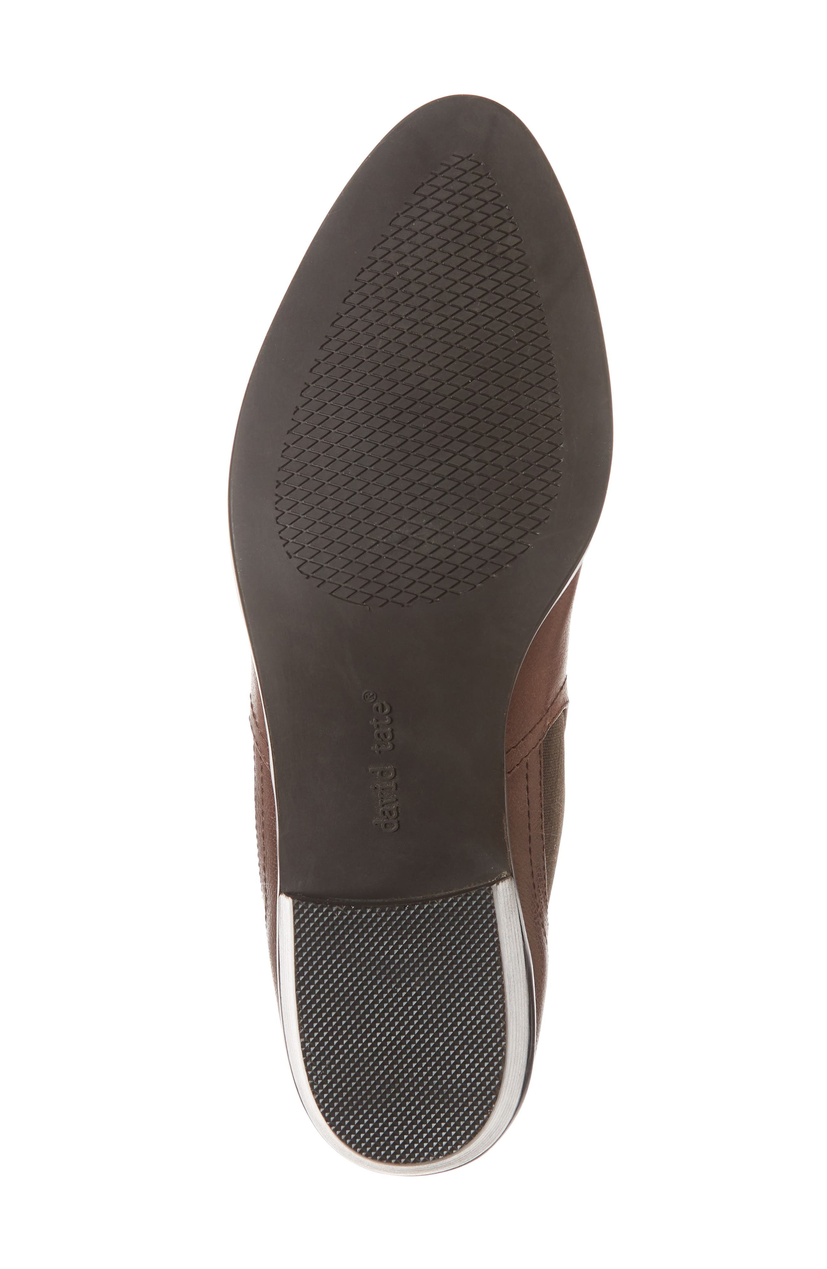 Maxie Chelsea Boot,                             Alternate thumbnail 6, color,                             LUGGAGE LEATHER