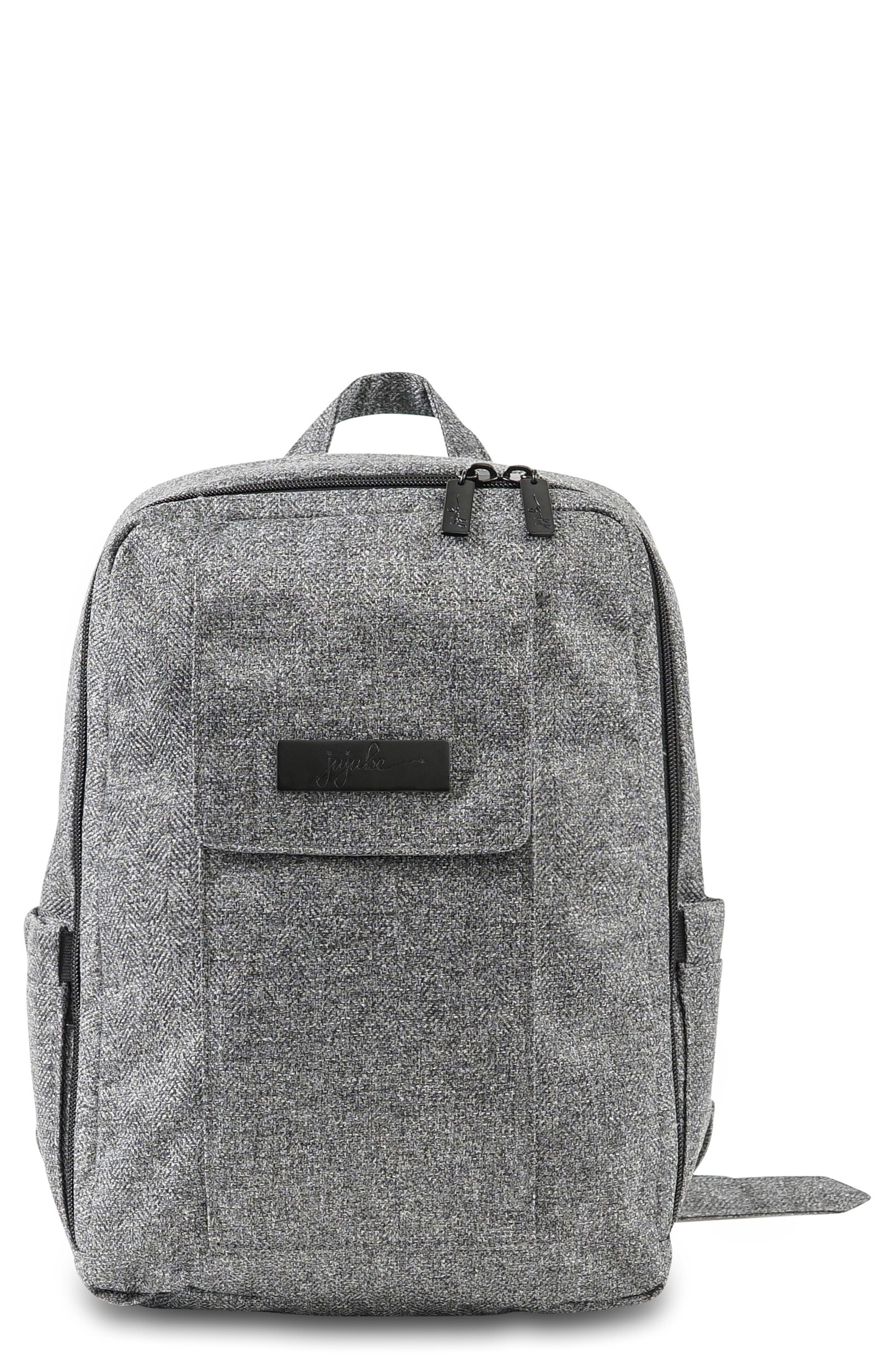 Infant JuJuBe Mini Be  Onyx Collection Backpack  Grey