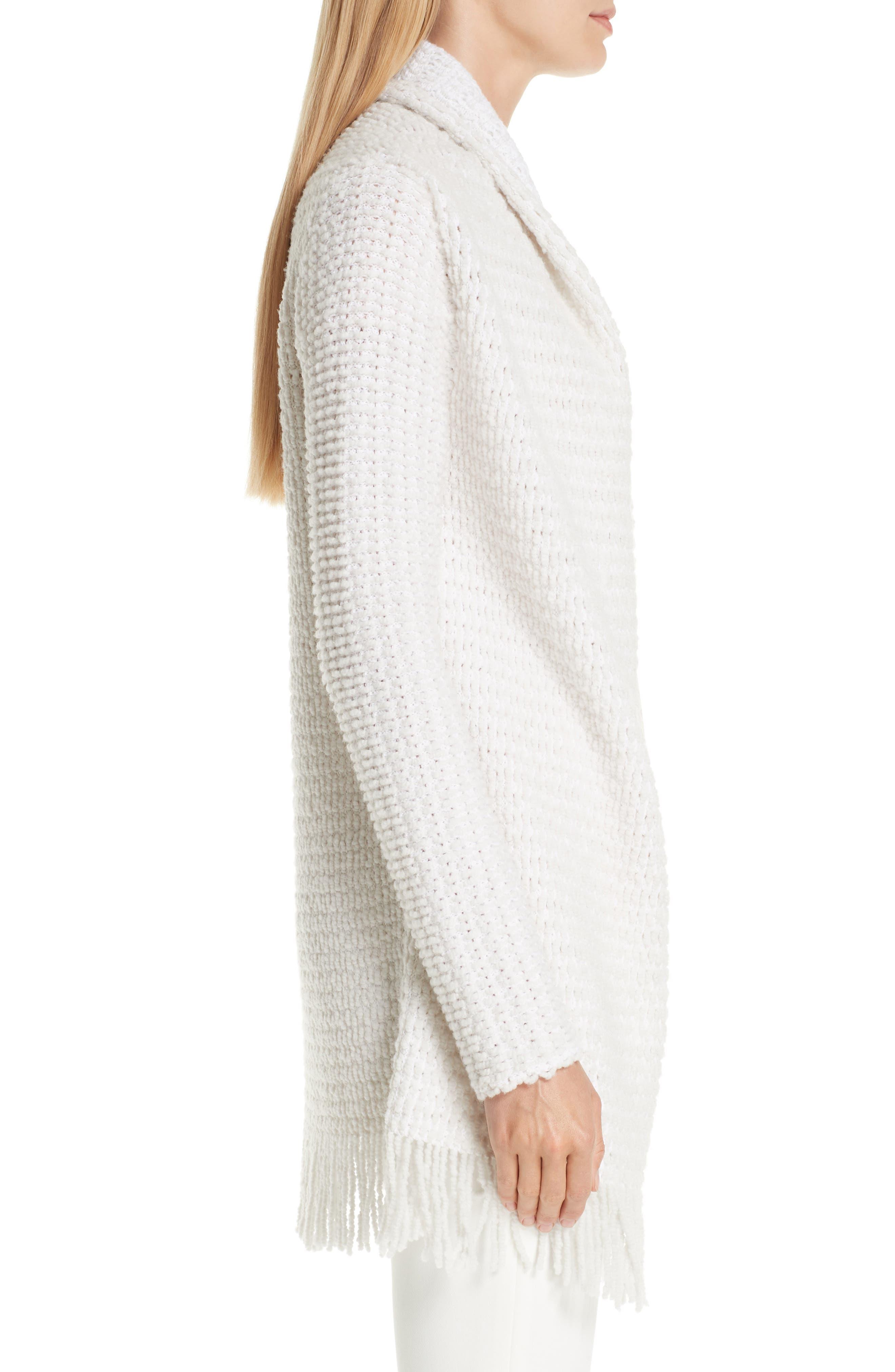 Textural Inlay Knit Cardigan,                             Alternate thumbnail 3, color,                             250