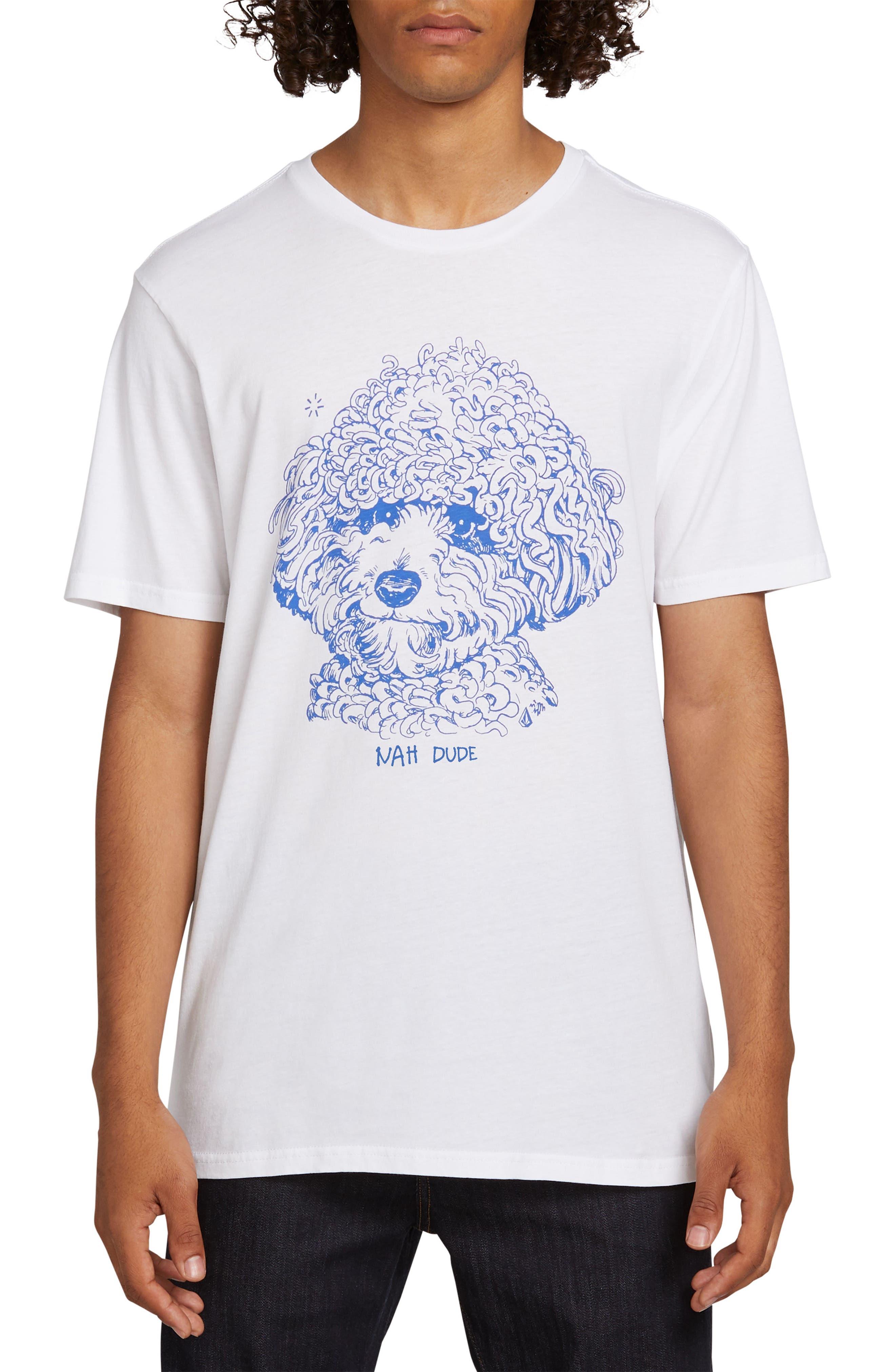 Volcom Travis Millard Dog T-Shirt, White