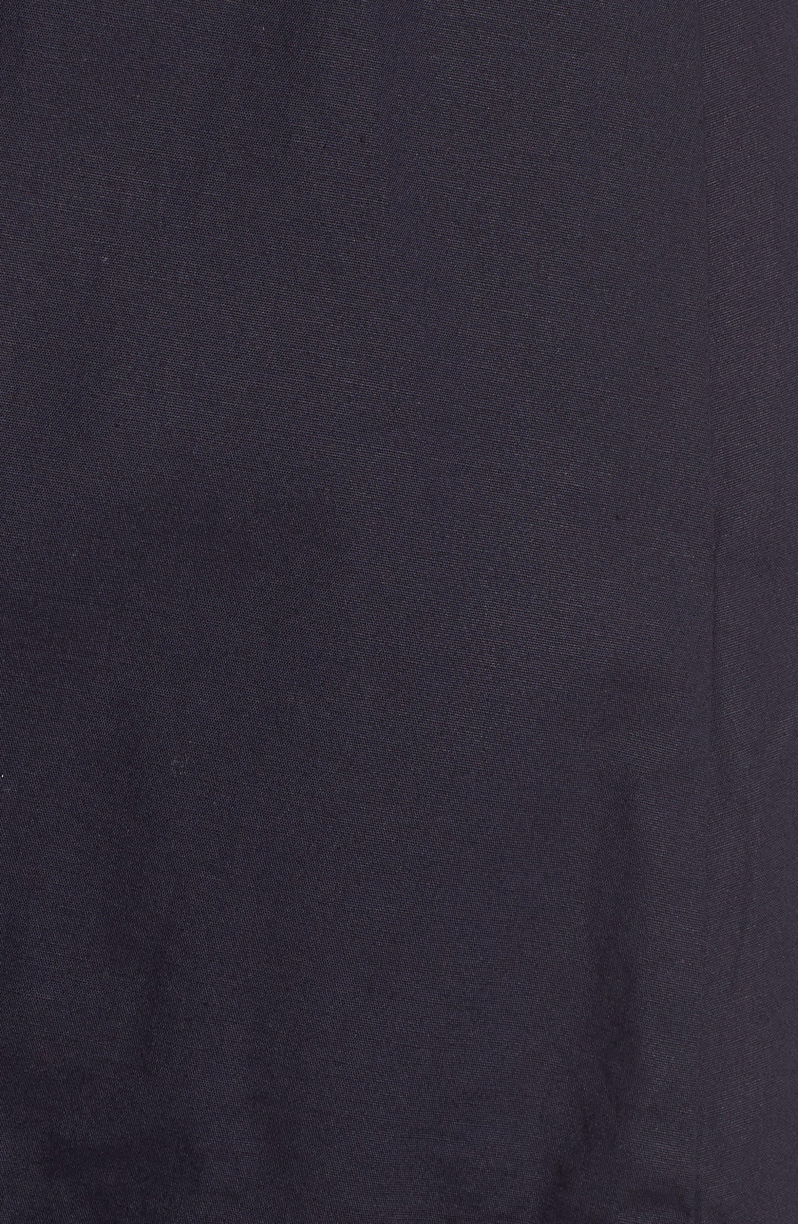 Pleat Collar Shirtdress,                             Alternate thumbnail 14, color,