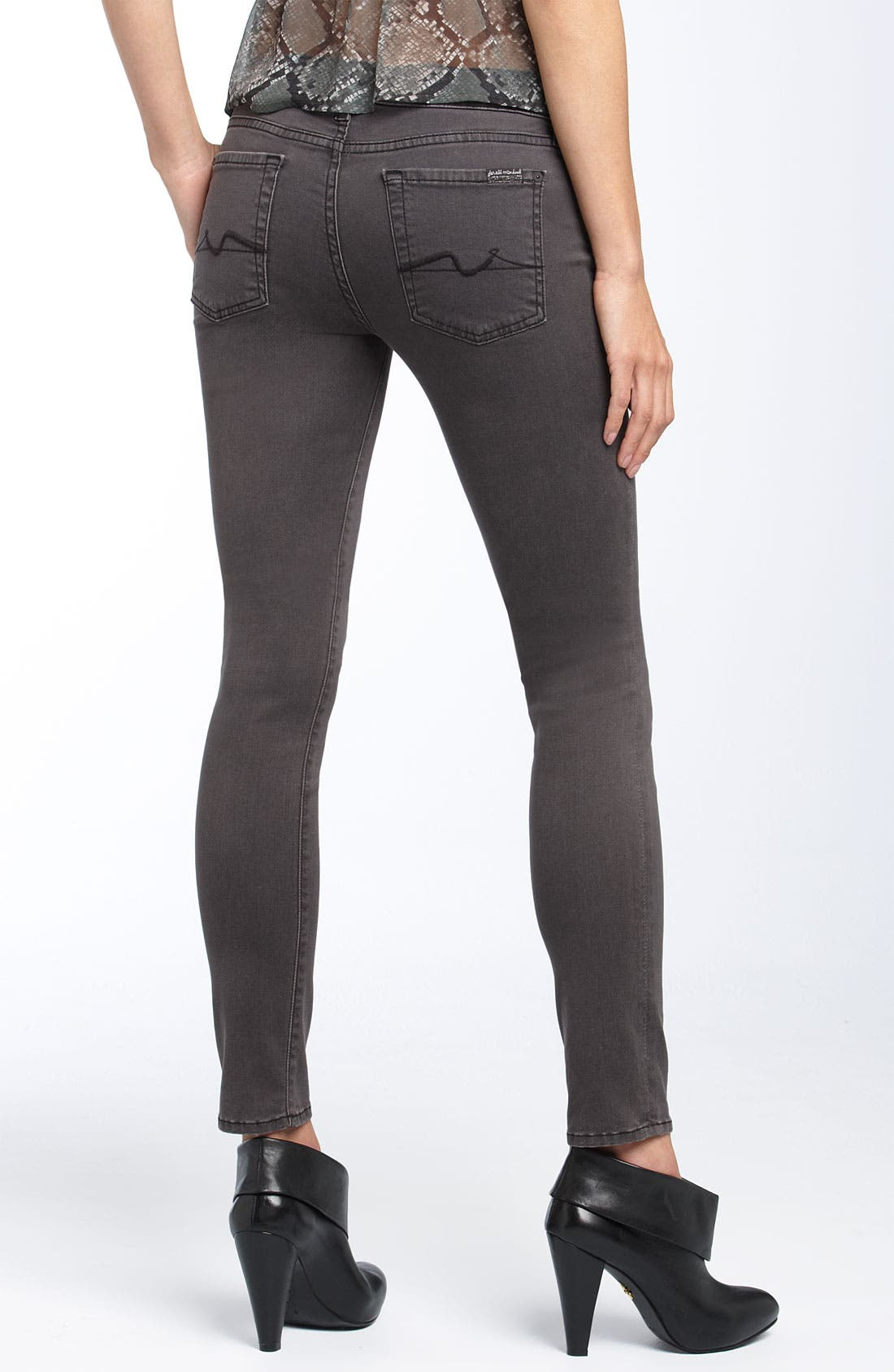 'Gwenevere' Skinny Stretch Jeans,                             Main thumbnail 1, color,                             020
